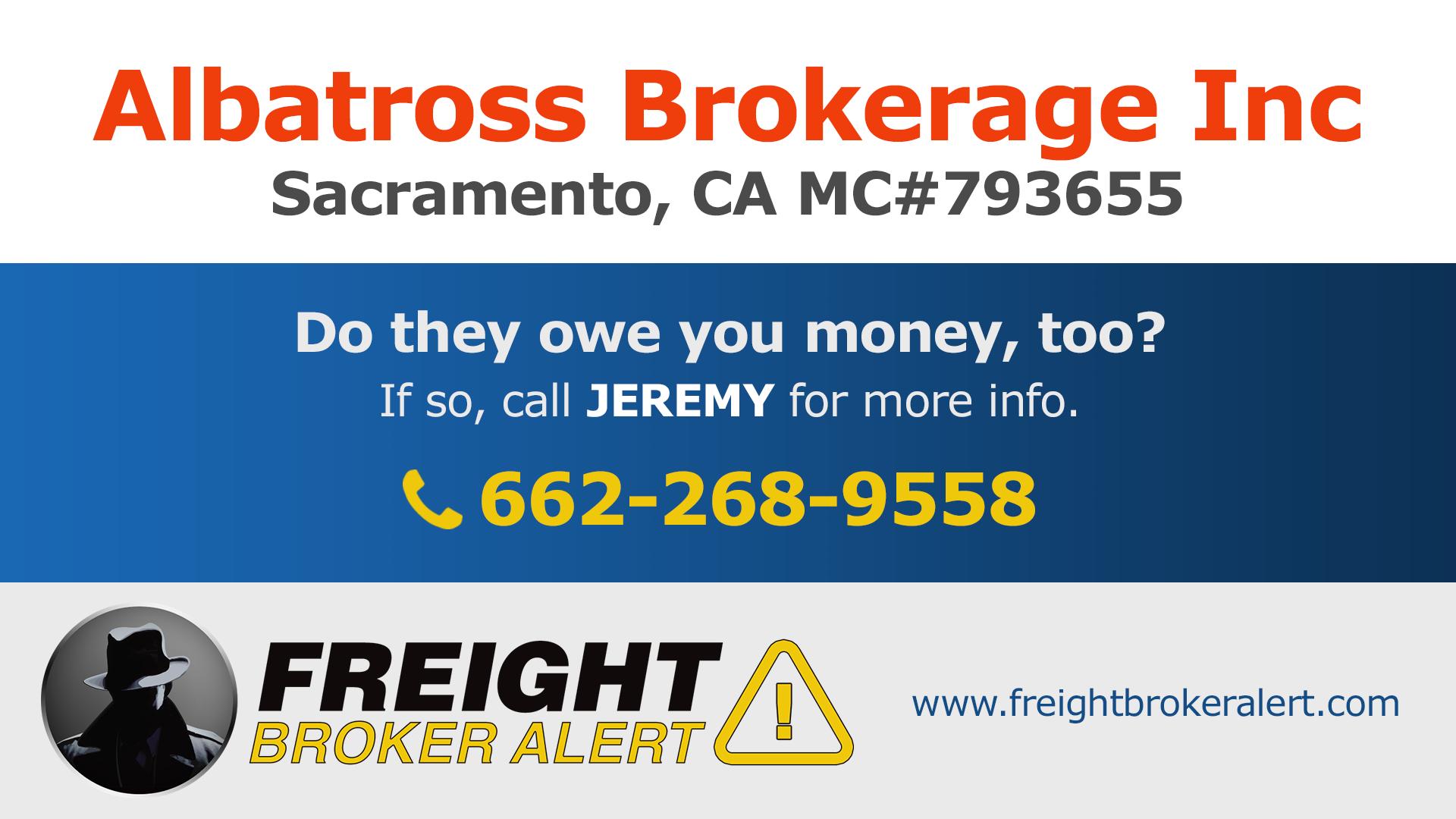 Albatross Brokerage Inc California