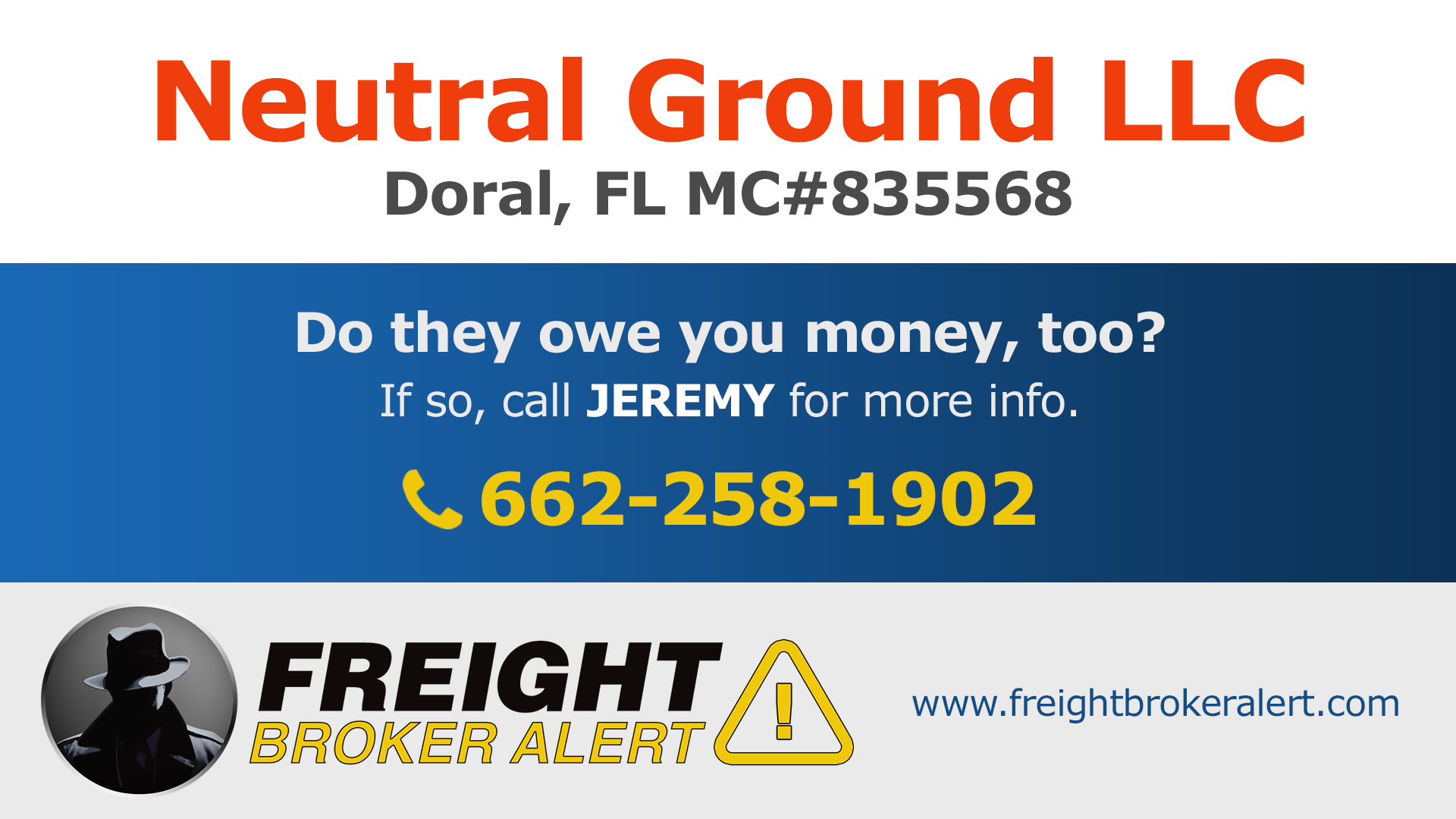 Neutral Ground LLC Florida