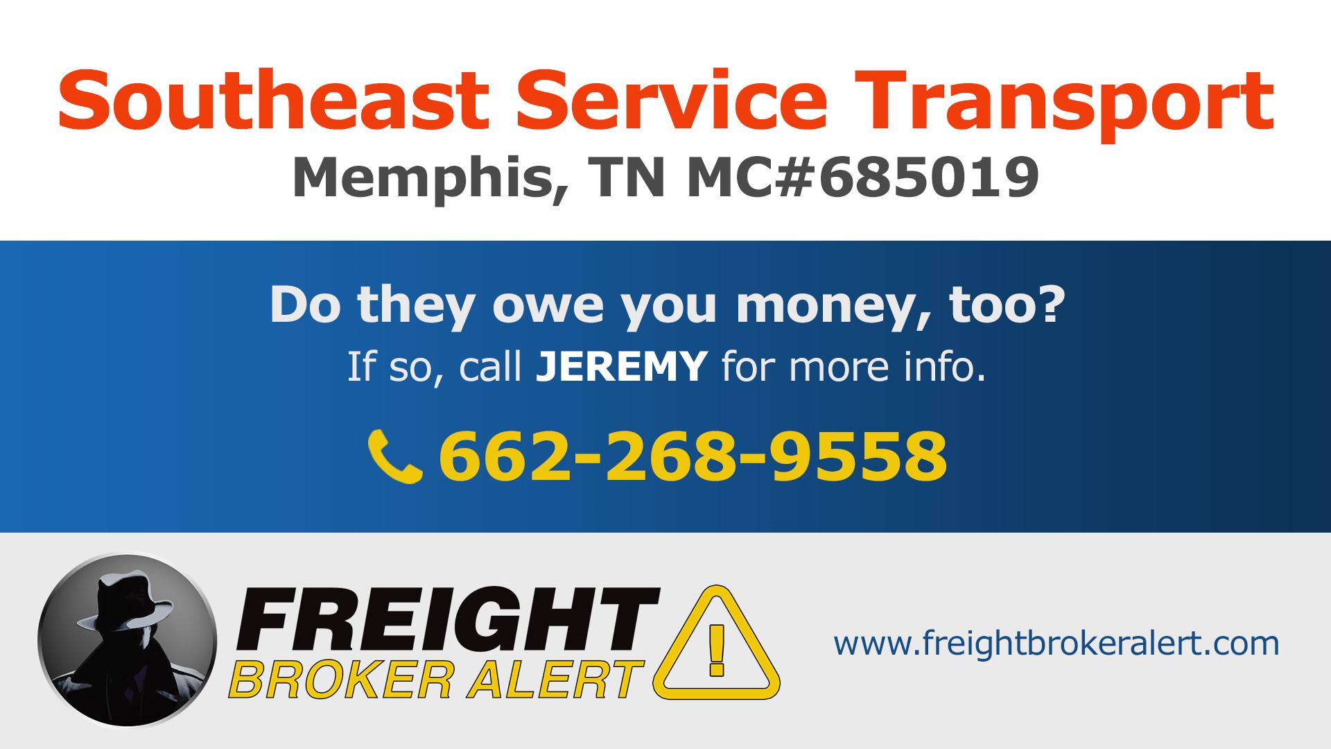 Southeast Service Transport LLC Tennessee