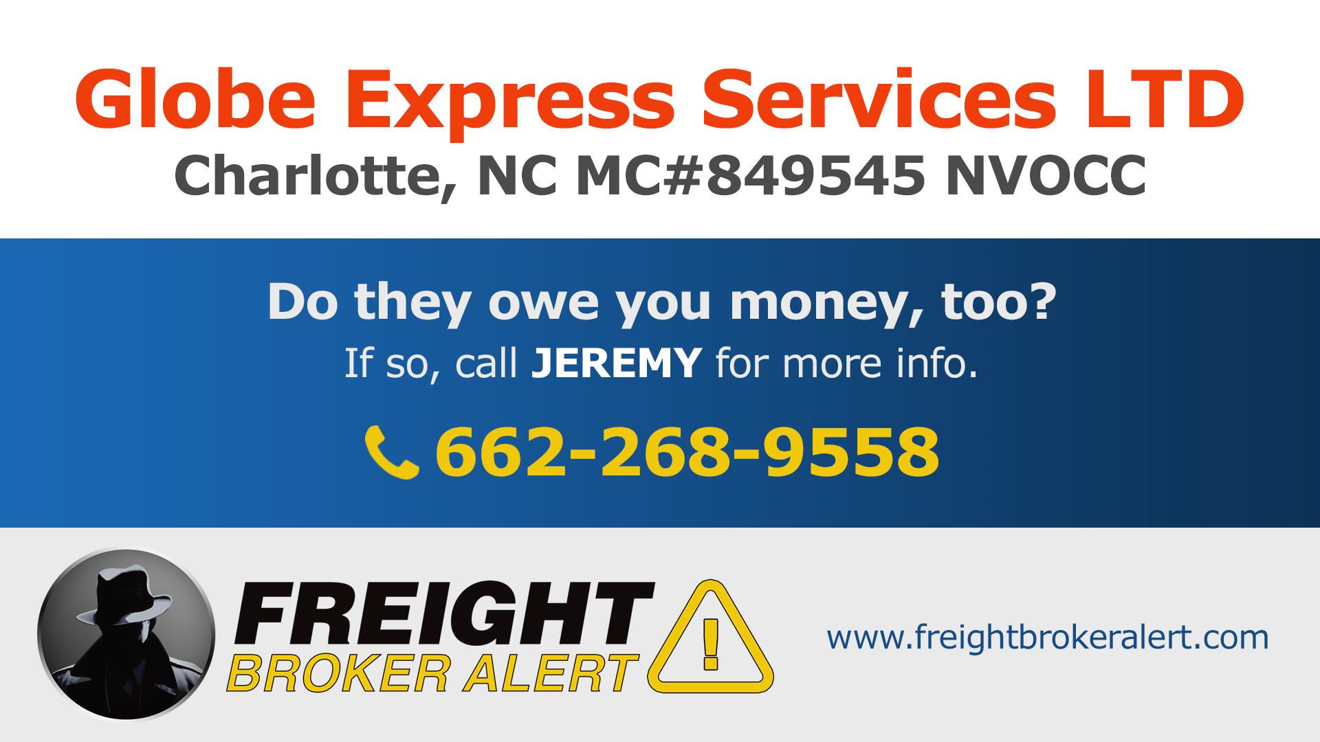 Globe Express Services LTD North Carolina