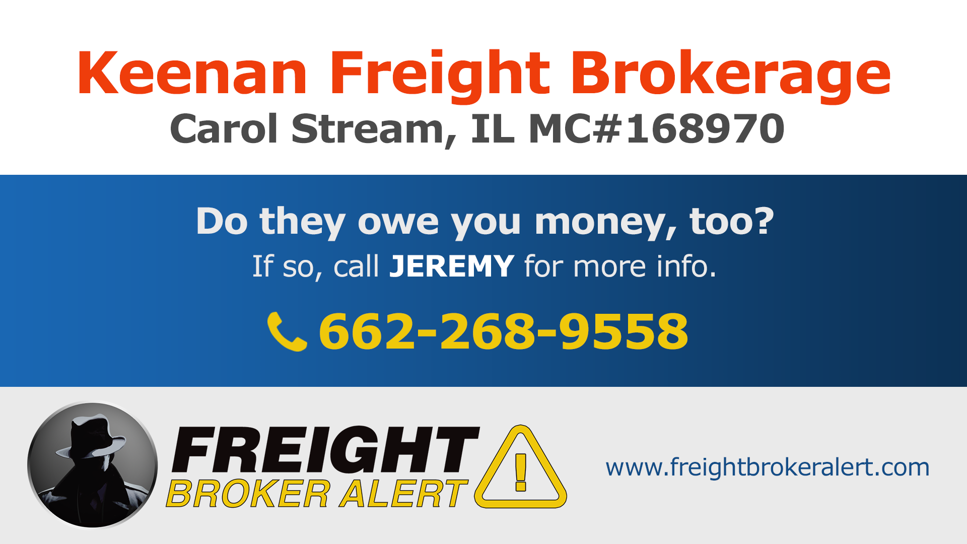 Keenan Freight Brokerage Keenan Global Solutions Inc Illinois