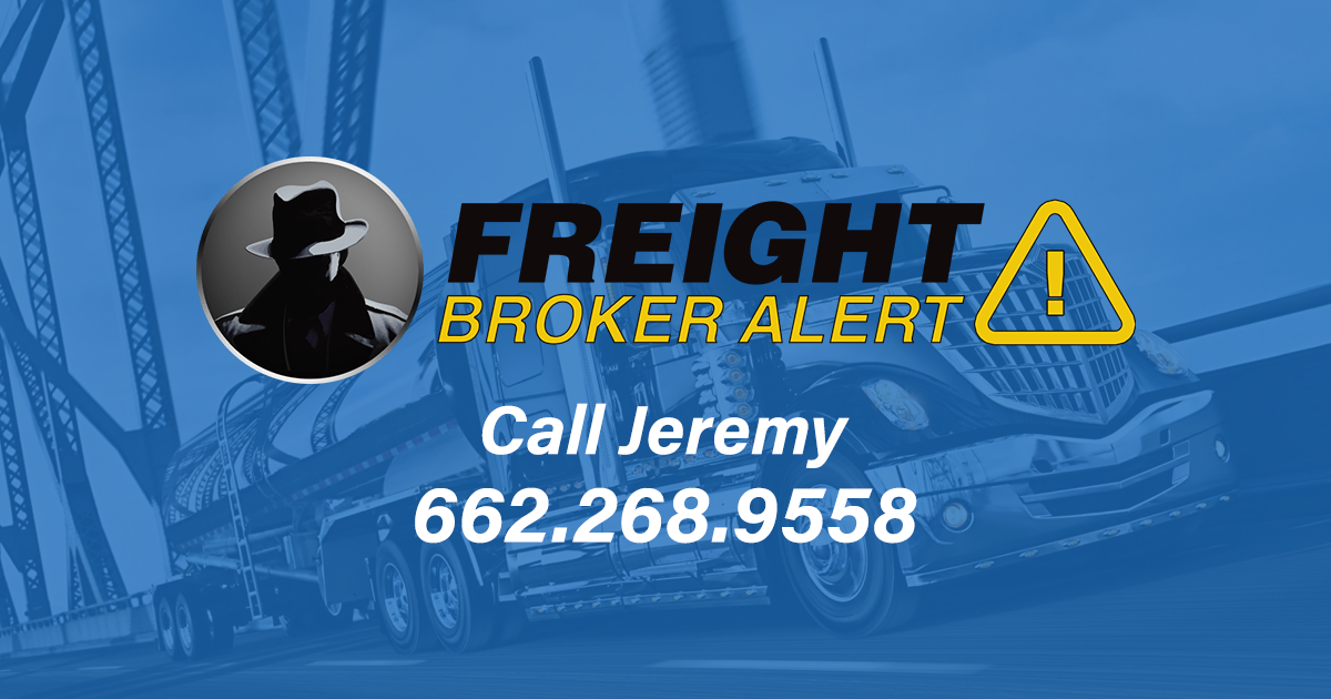 Freight Broker Alert Article