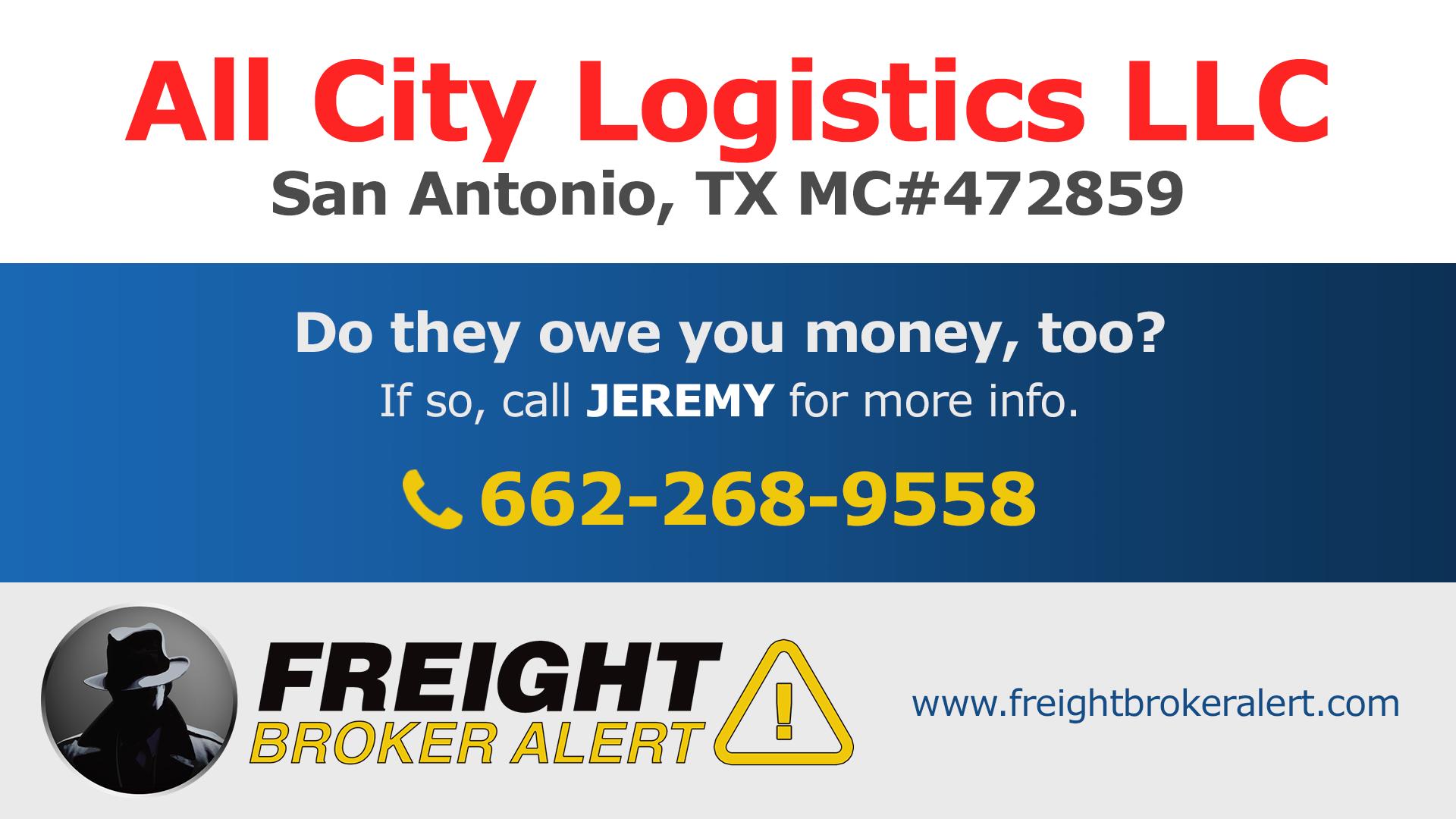 All City Logistics LLC Texas