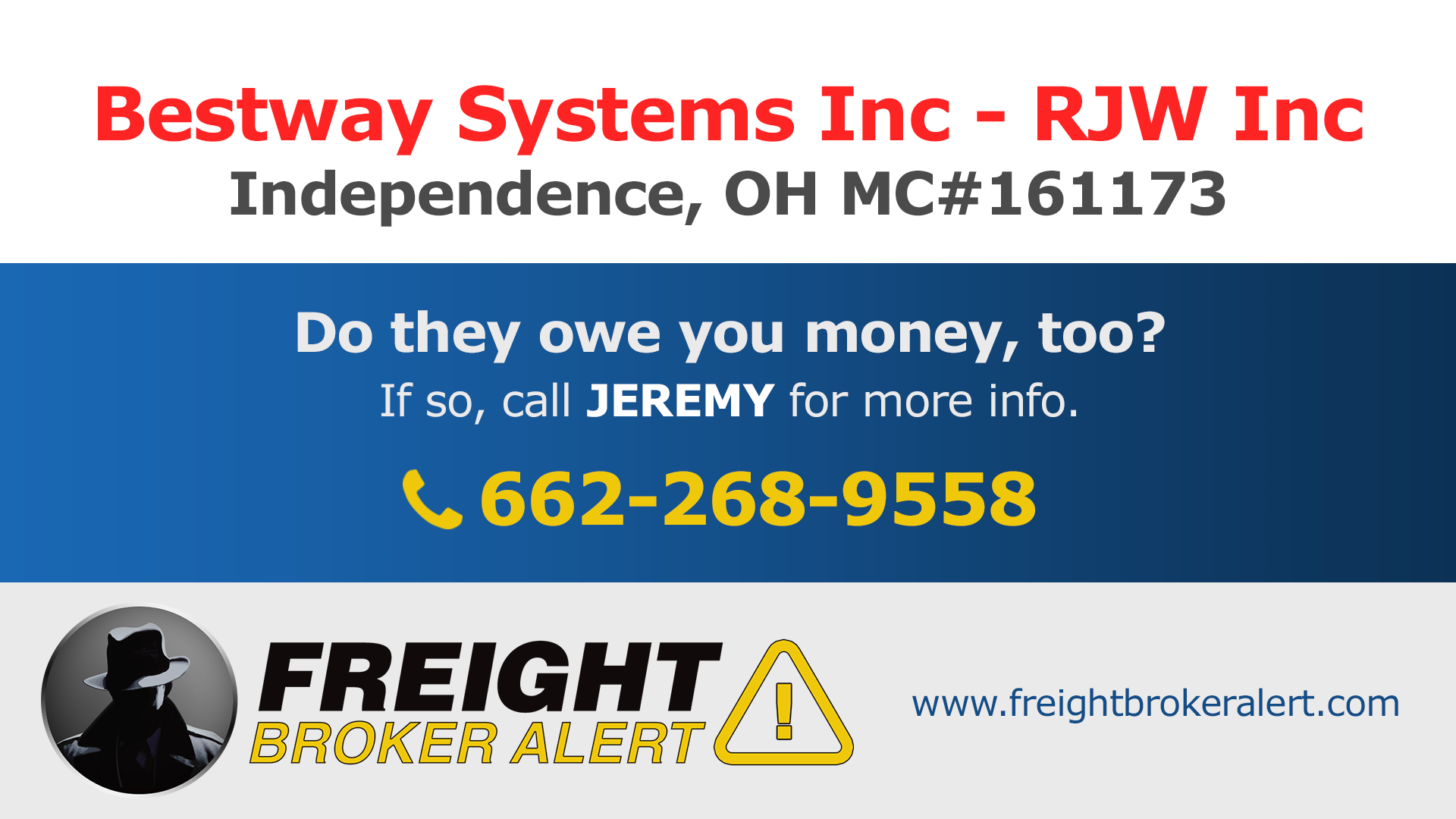 Bestway Systems Inc Ohio