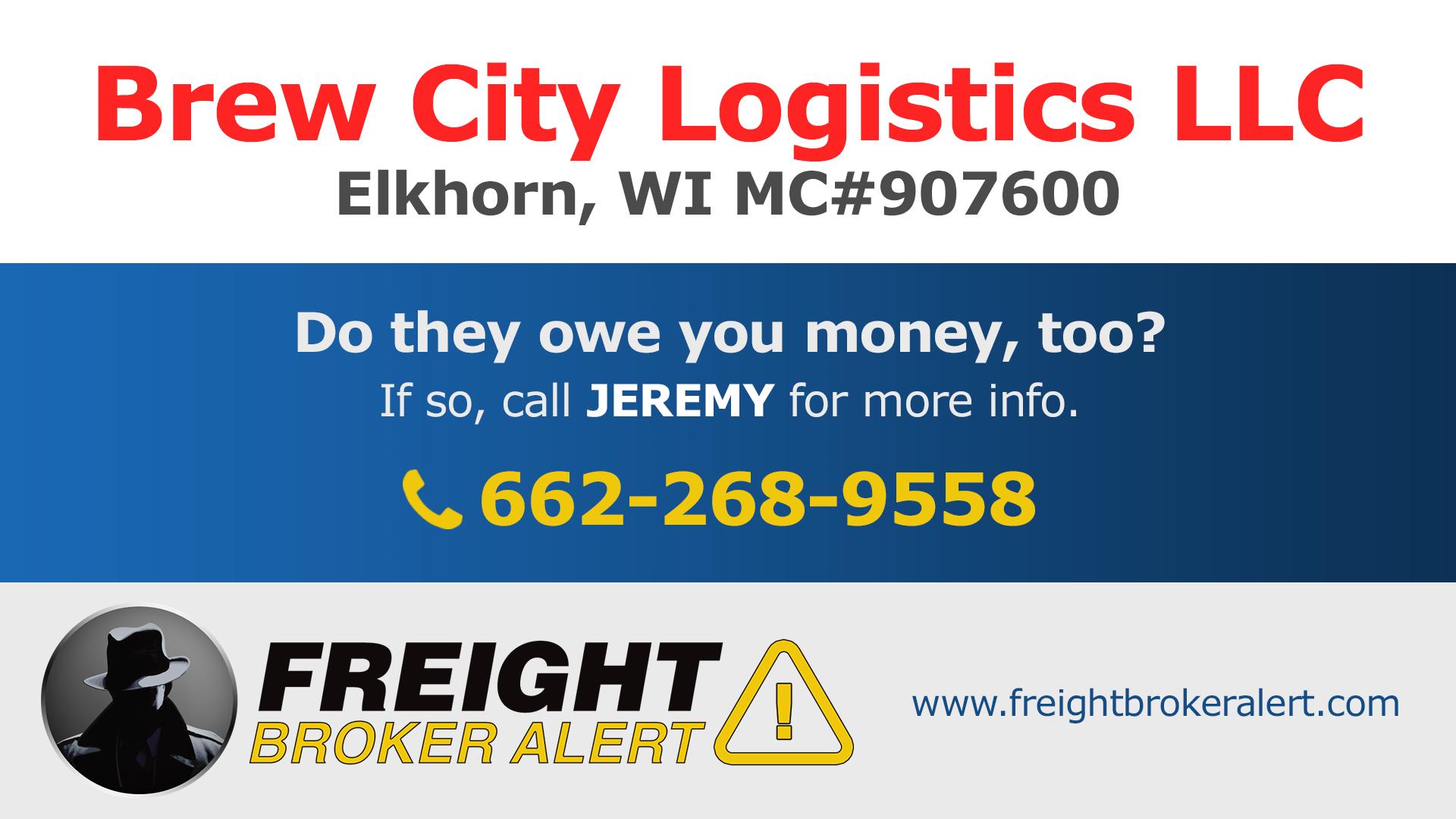 Brew City Logistics LLC Wisconsin