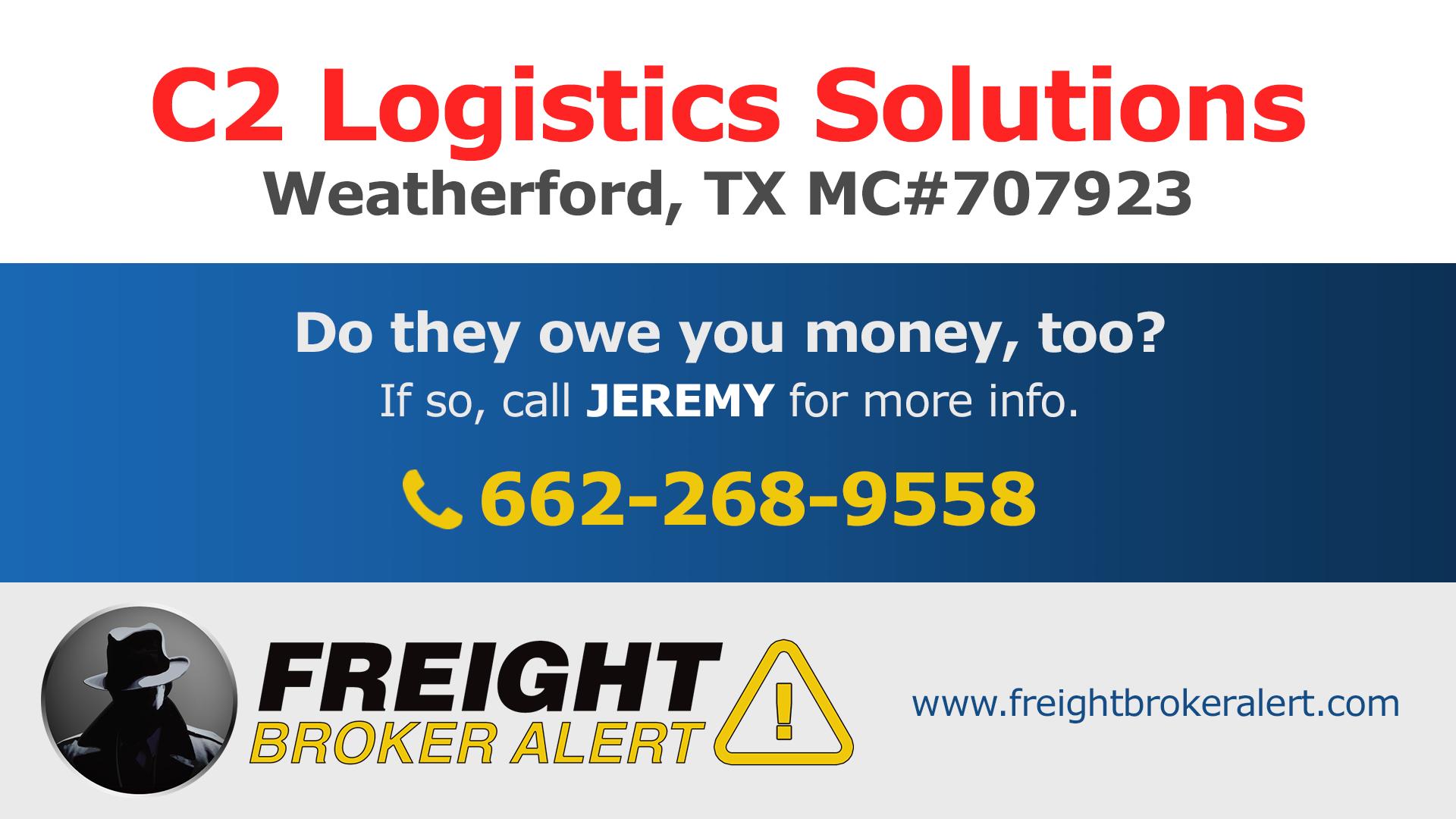 C2 Logistics Solutions LLC Texas