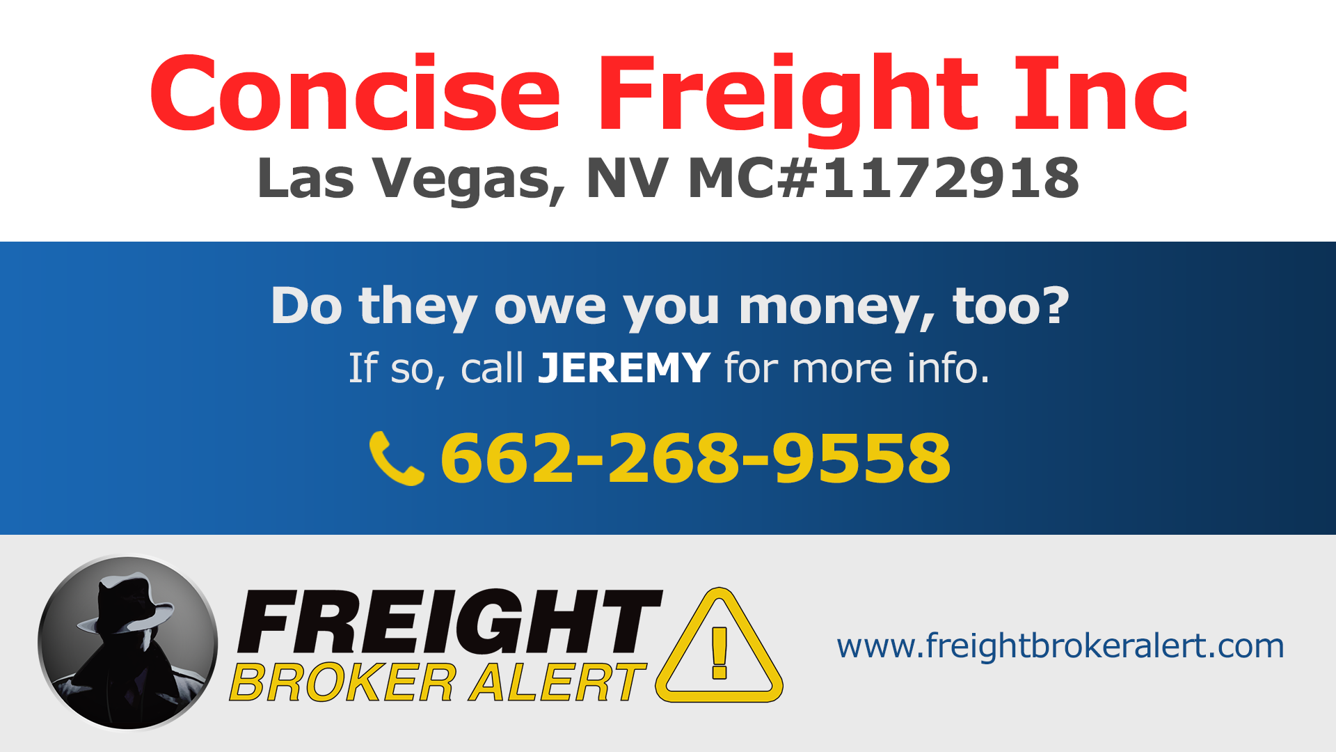 Concise Freight Inc Nevada