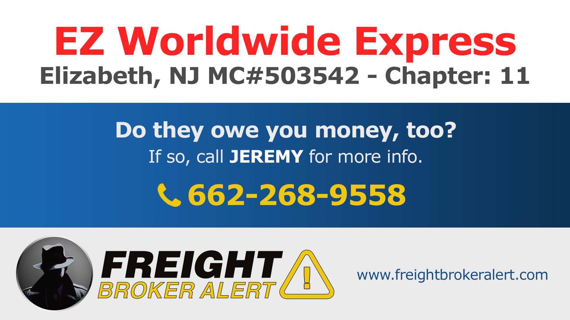 EZ Worldwide Express New Jersey