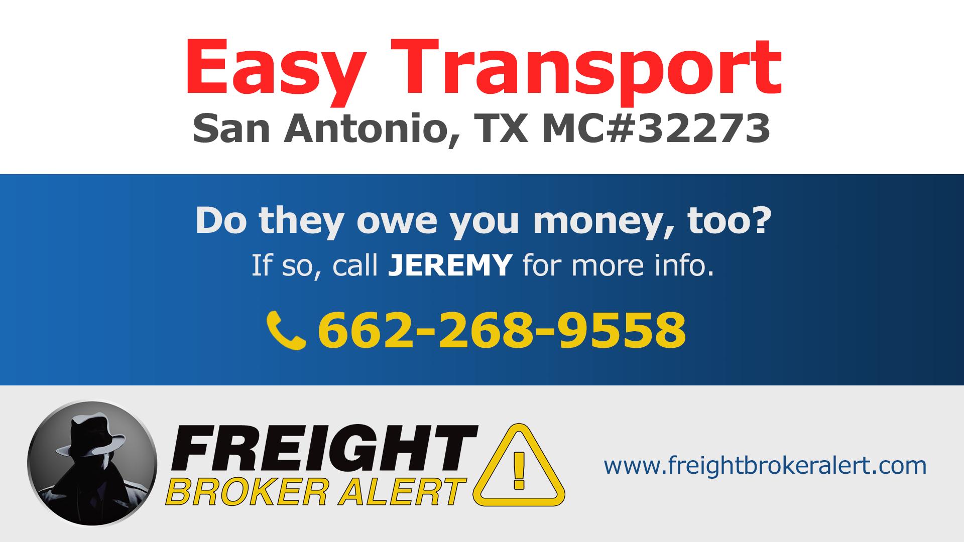 Easy Transport Texas