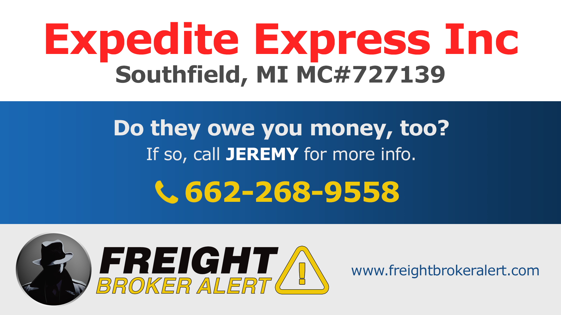 Expedite Express Inc Michigan