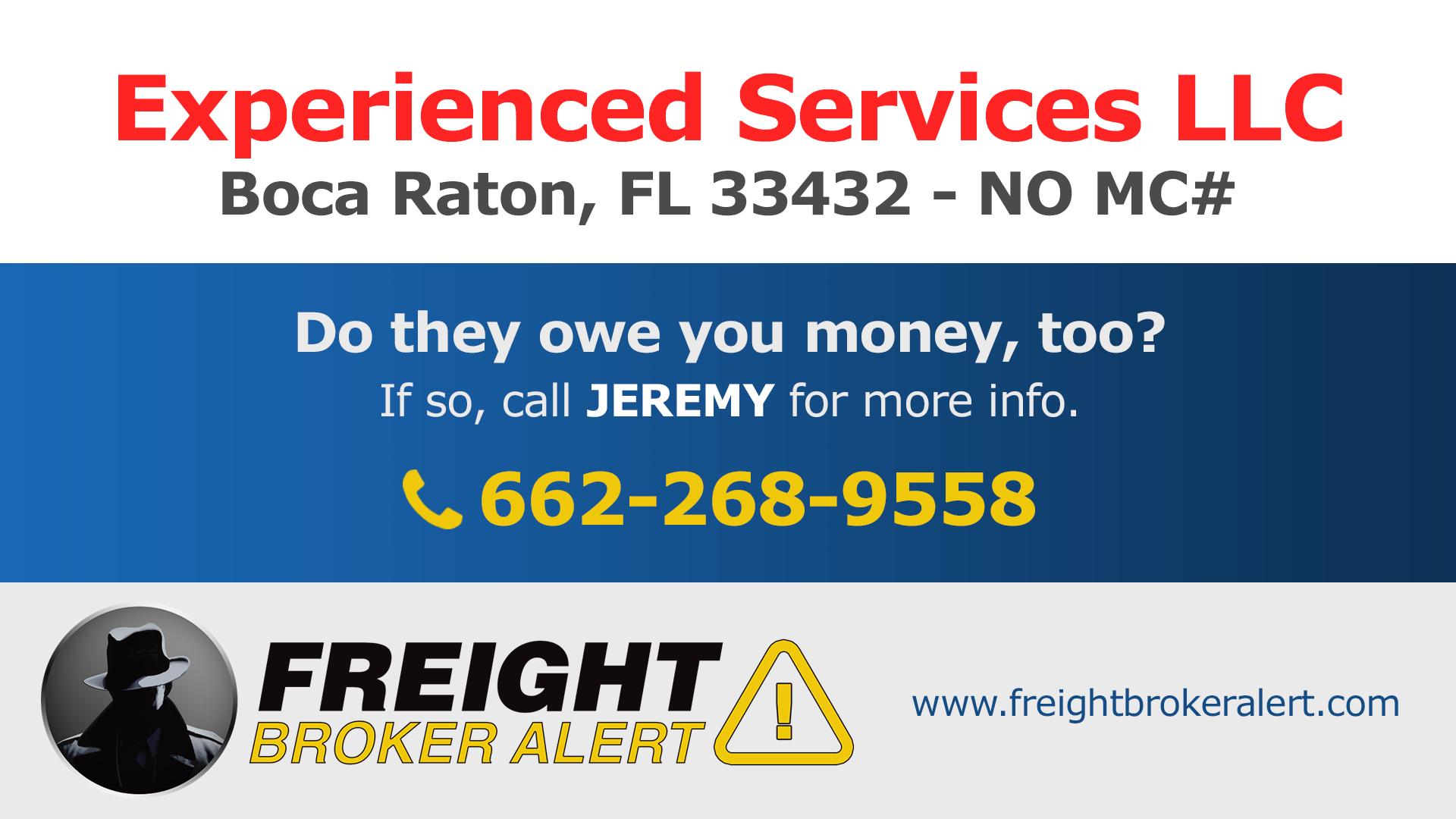 Experienced Services LLC Florida