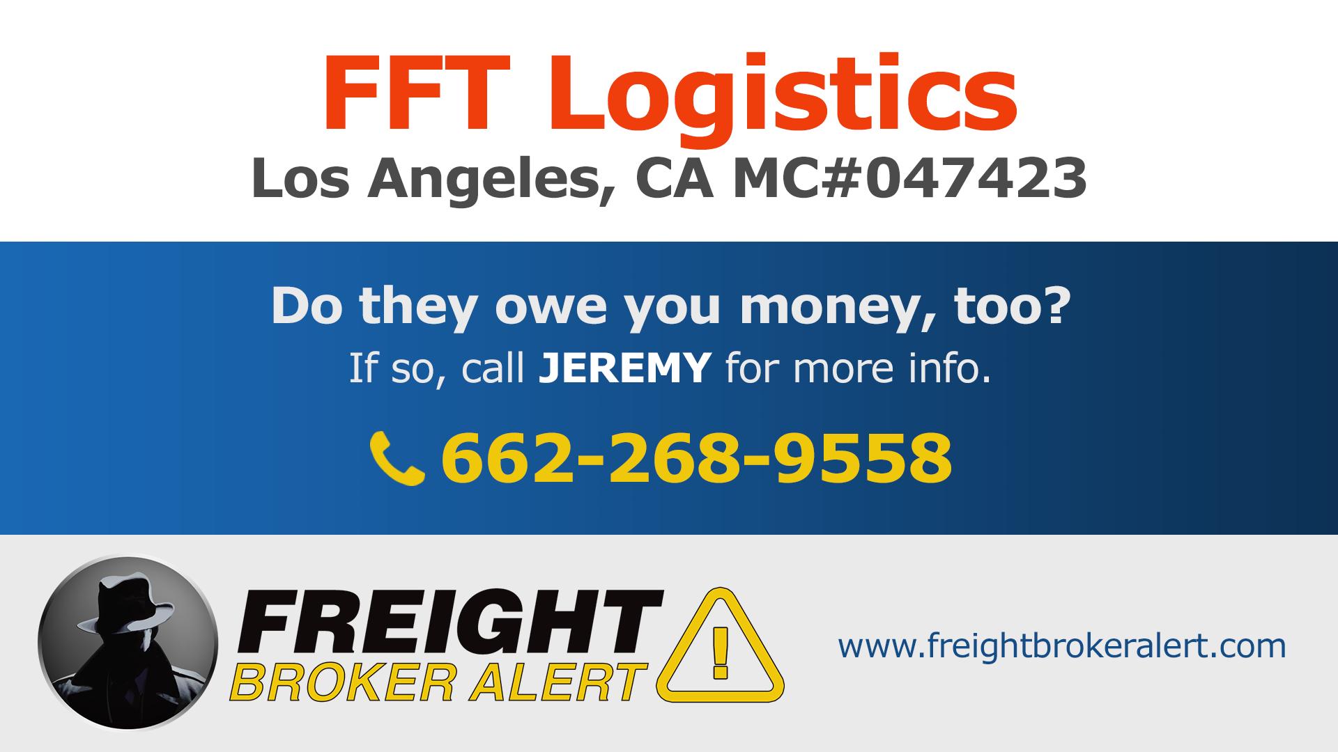 FFT Logistics California