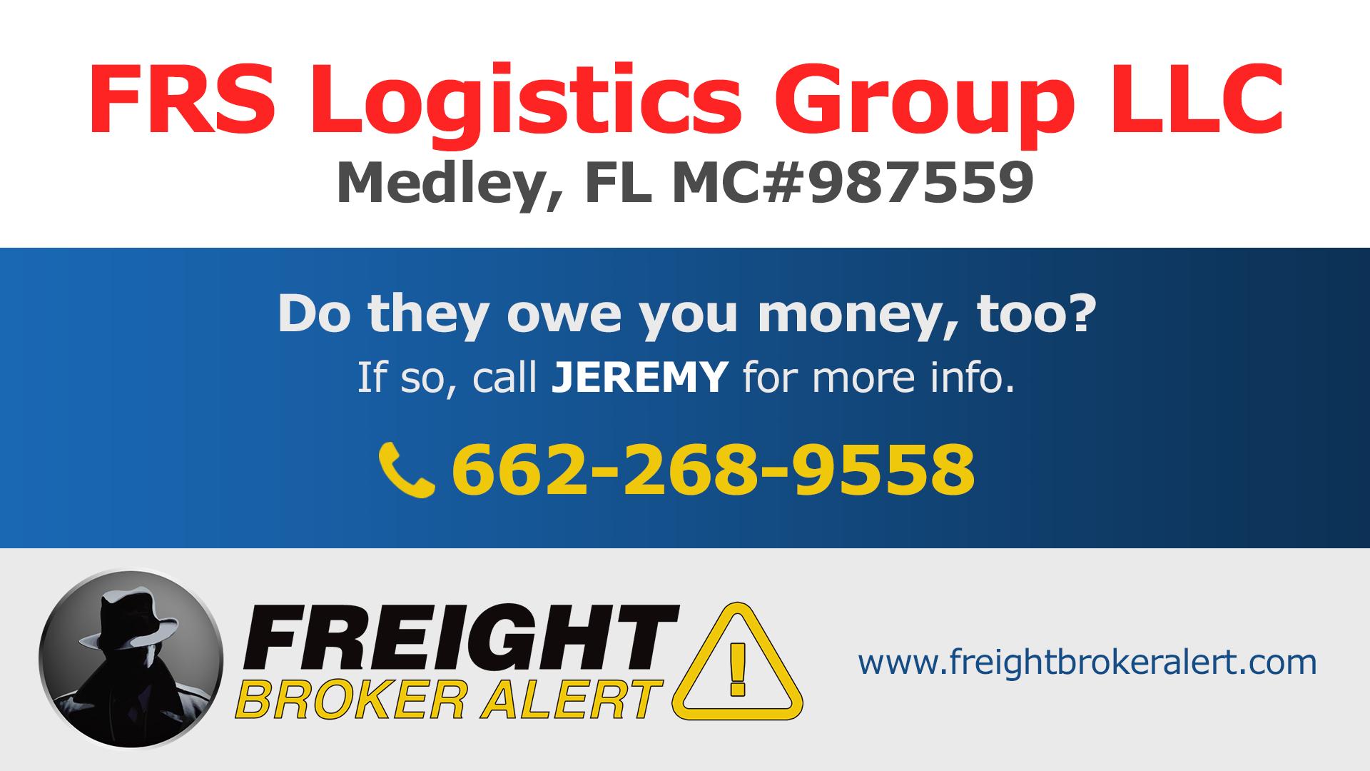 FRS Logistics Group LLC Florida