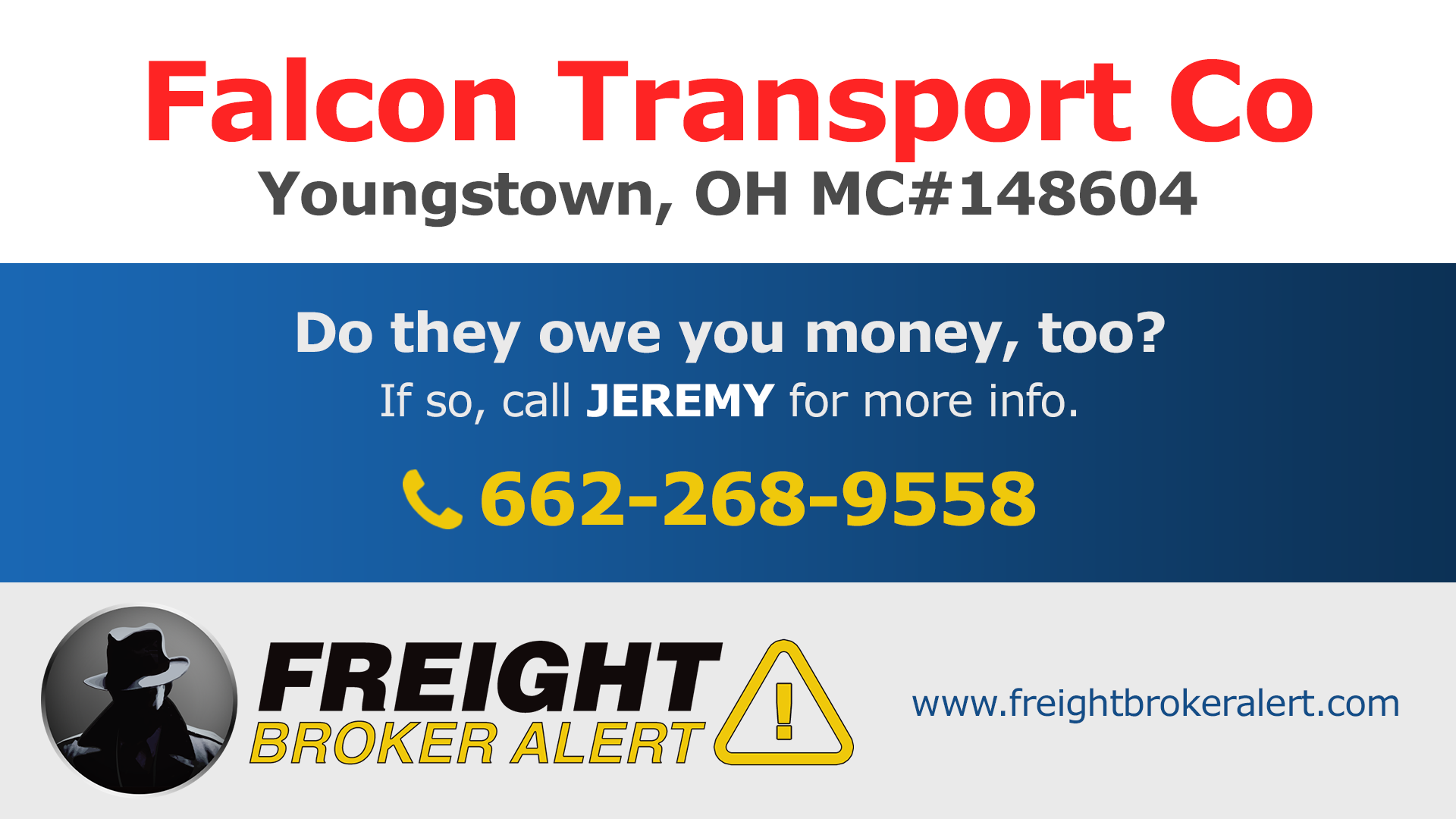 Falcon Transport Co Ohio