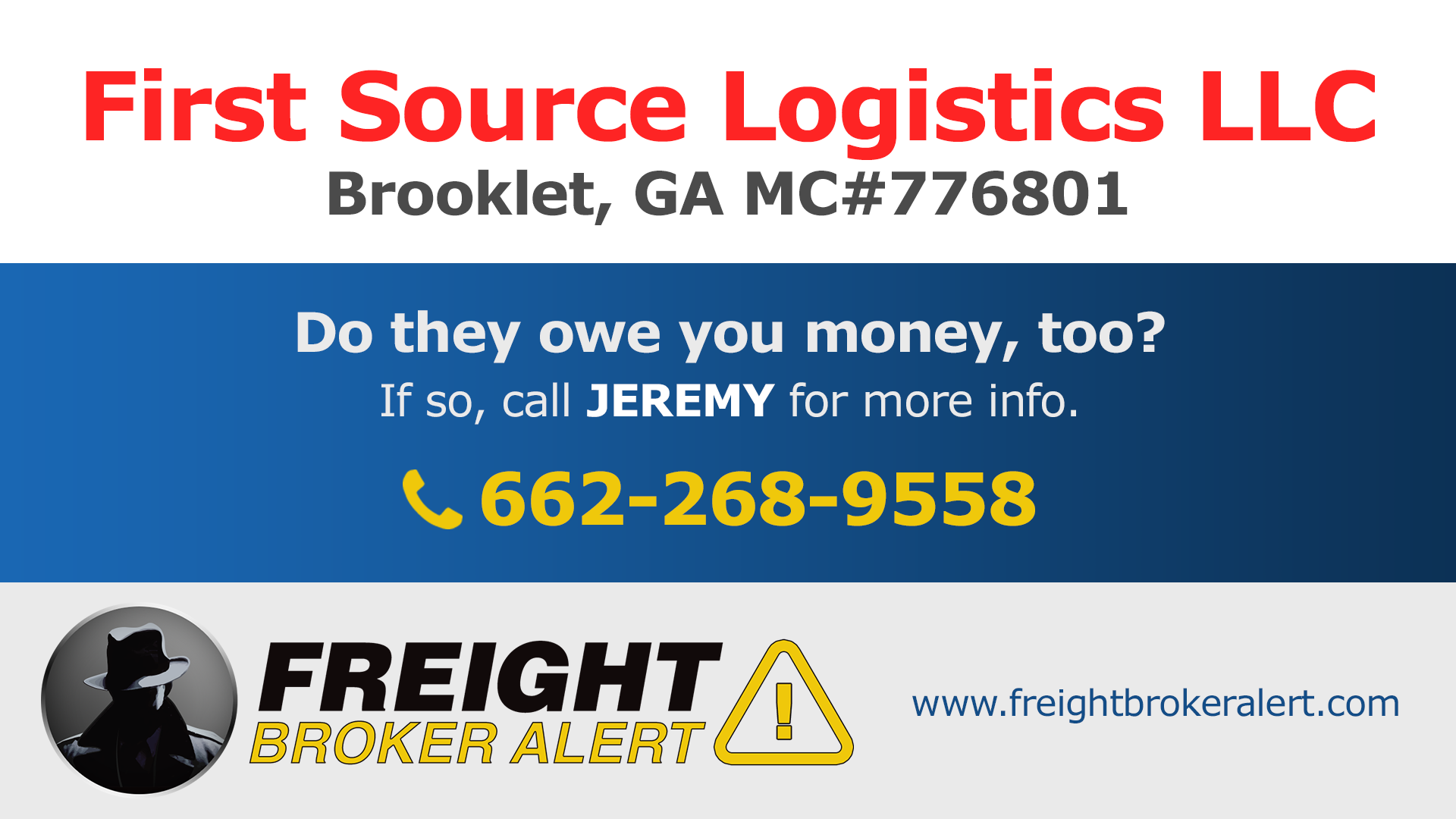 First Source Logistics LLC Georgia