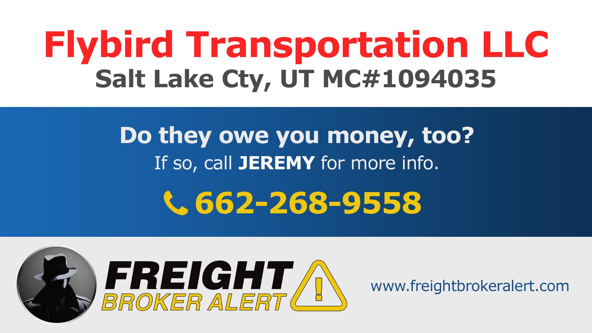 Flybird Transportation LLC Utah