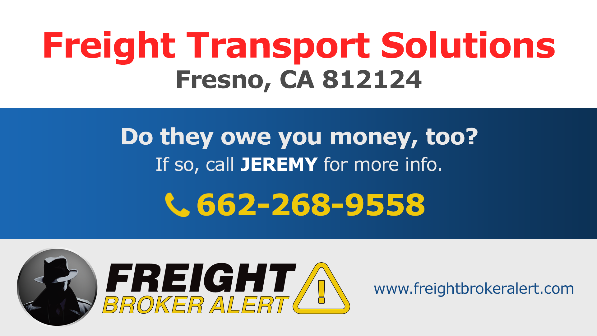 Freight Transport Solutions Inc California