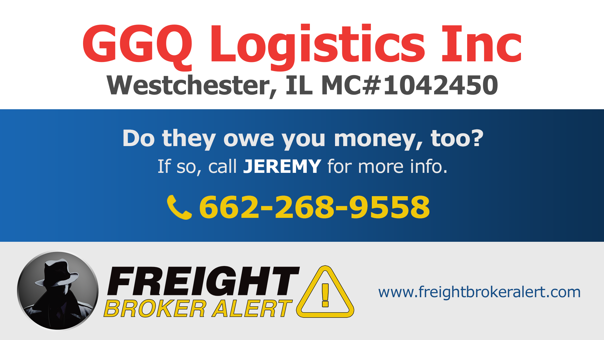 GGQ Logistics Inc Illinois