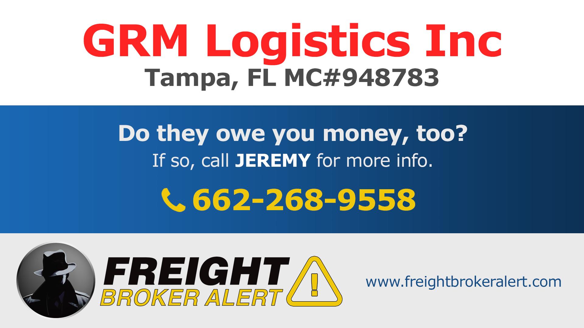 GRM Logistics Inc Florida