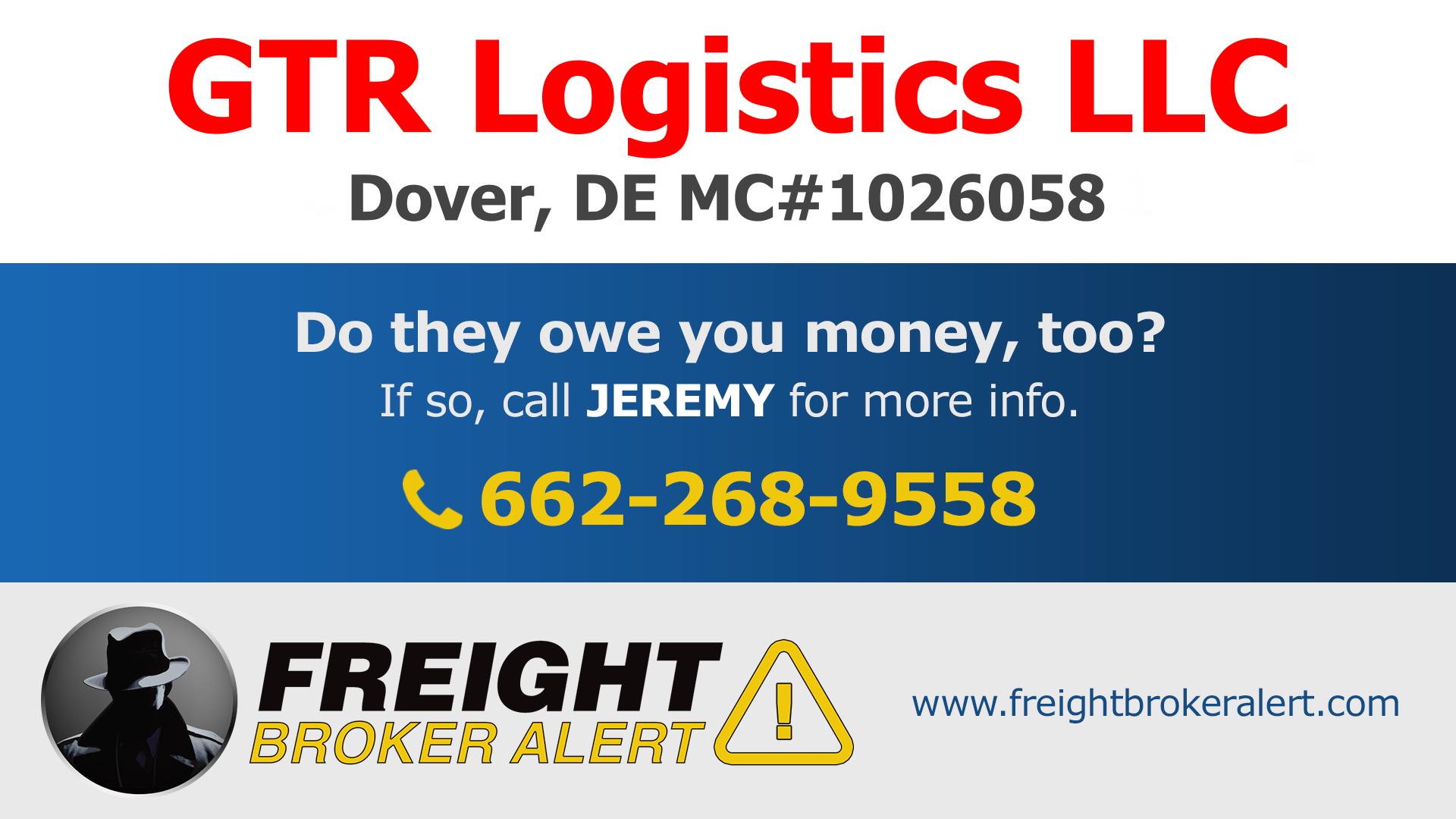 GTR Logistics LLC Delaware