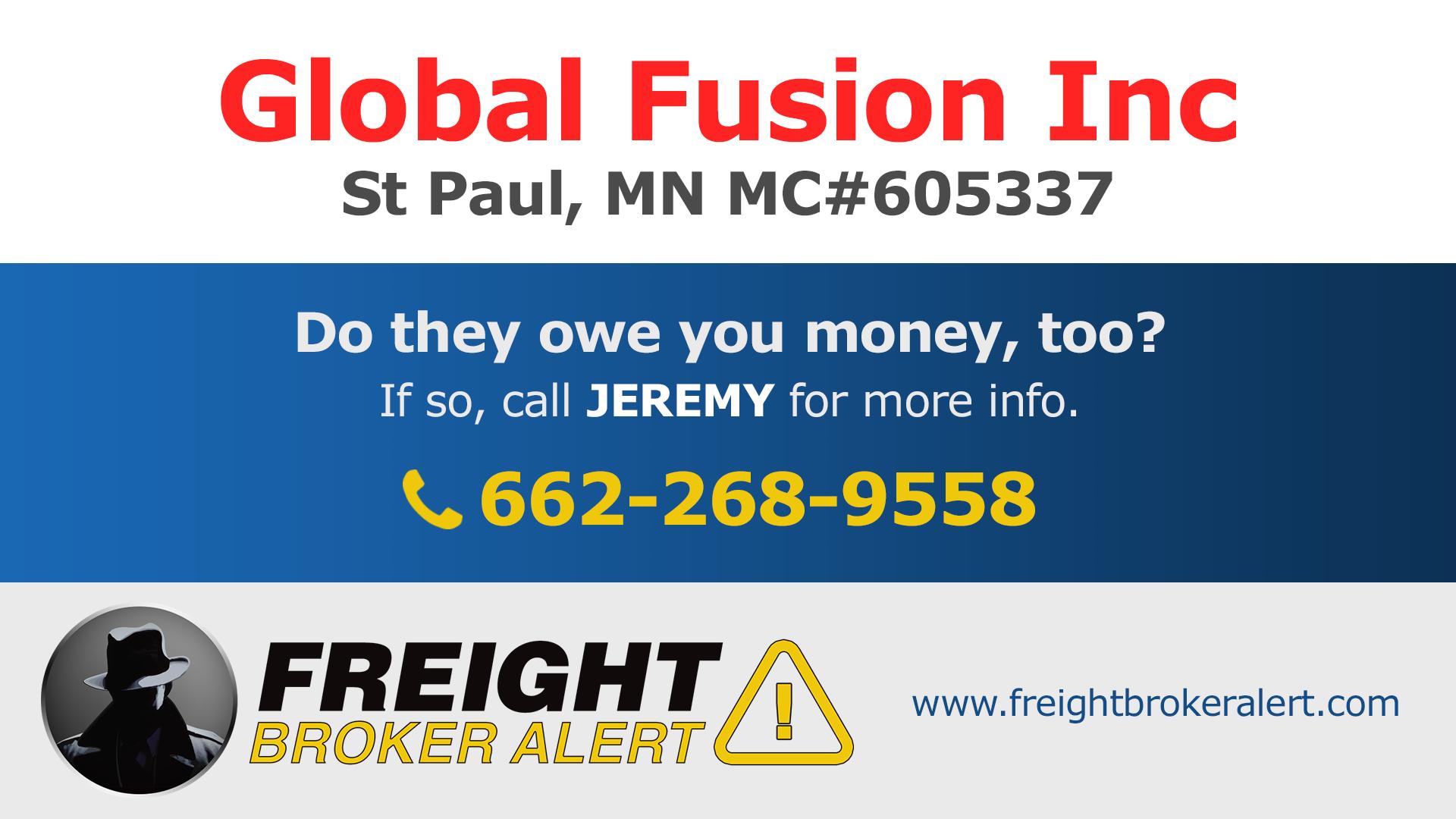 Global Fusion Inc Minnesota