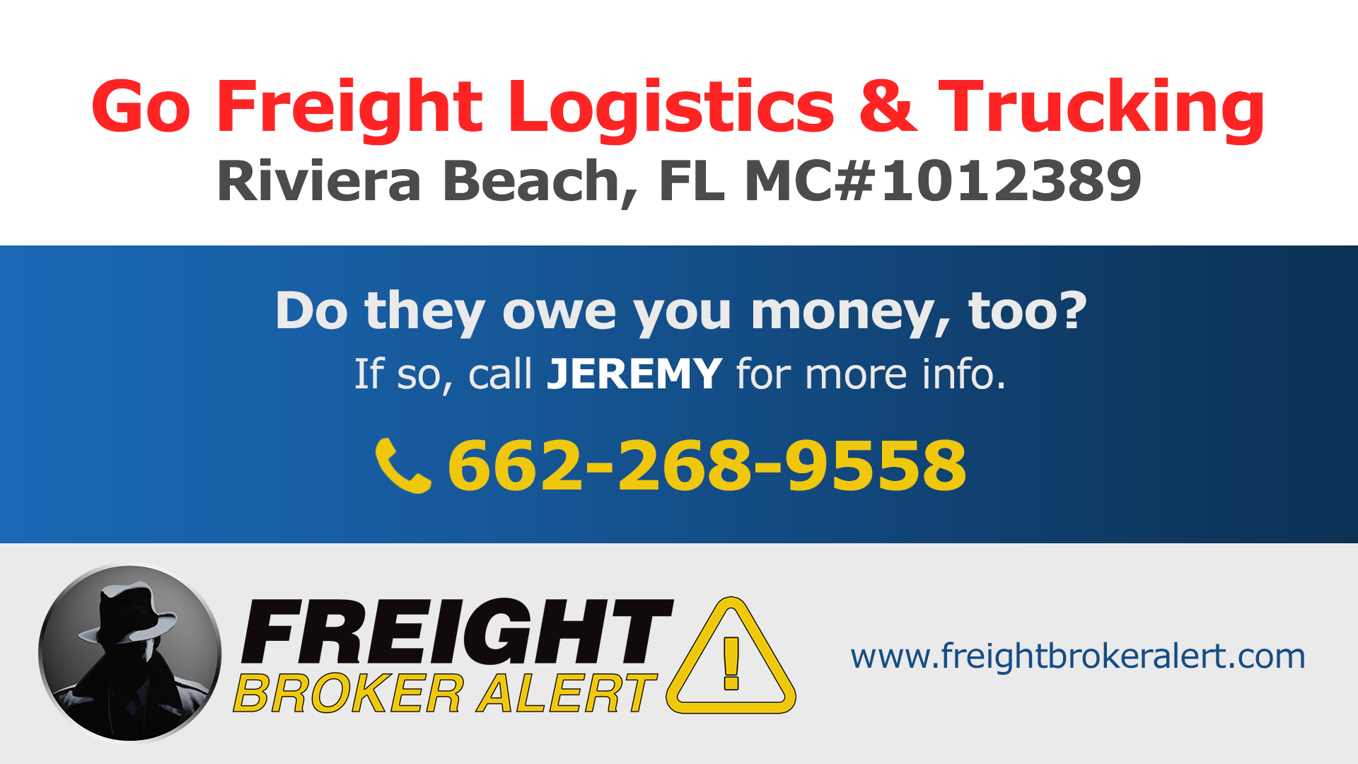 Go Freight Logistics & Trucking LLC Florida
