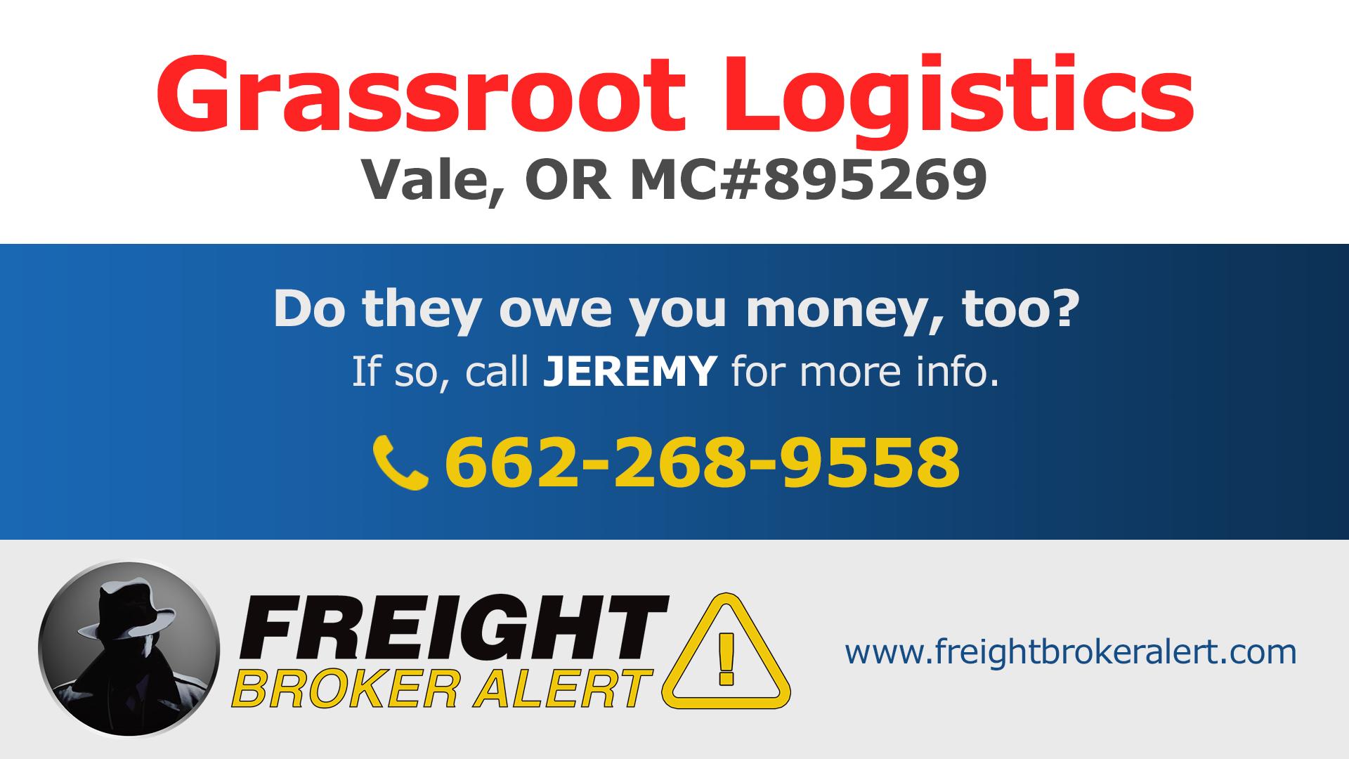 Grassroot Logistics Oregon