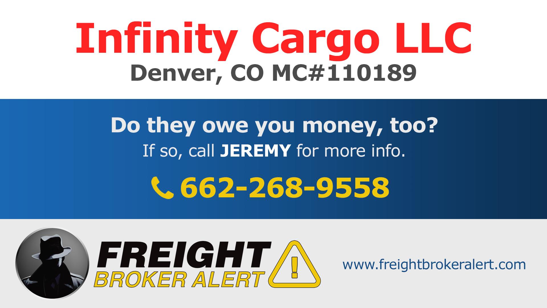 Infinity Cargo LLC Colorado