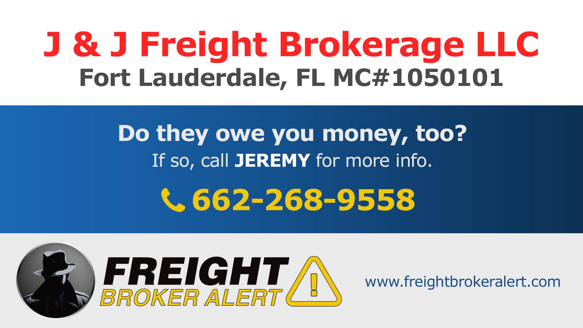 J & J Freight Brokerage LLC Florida