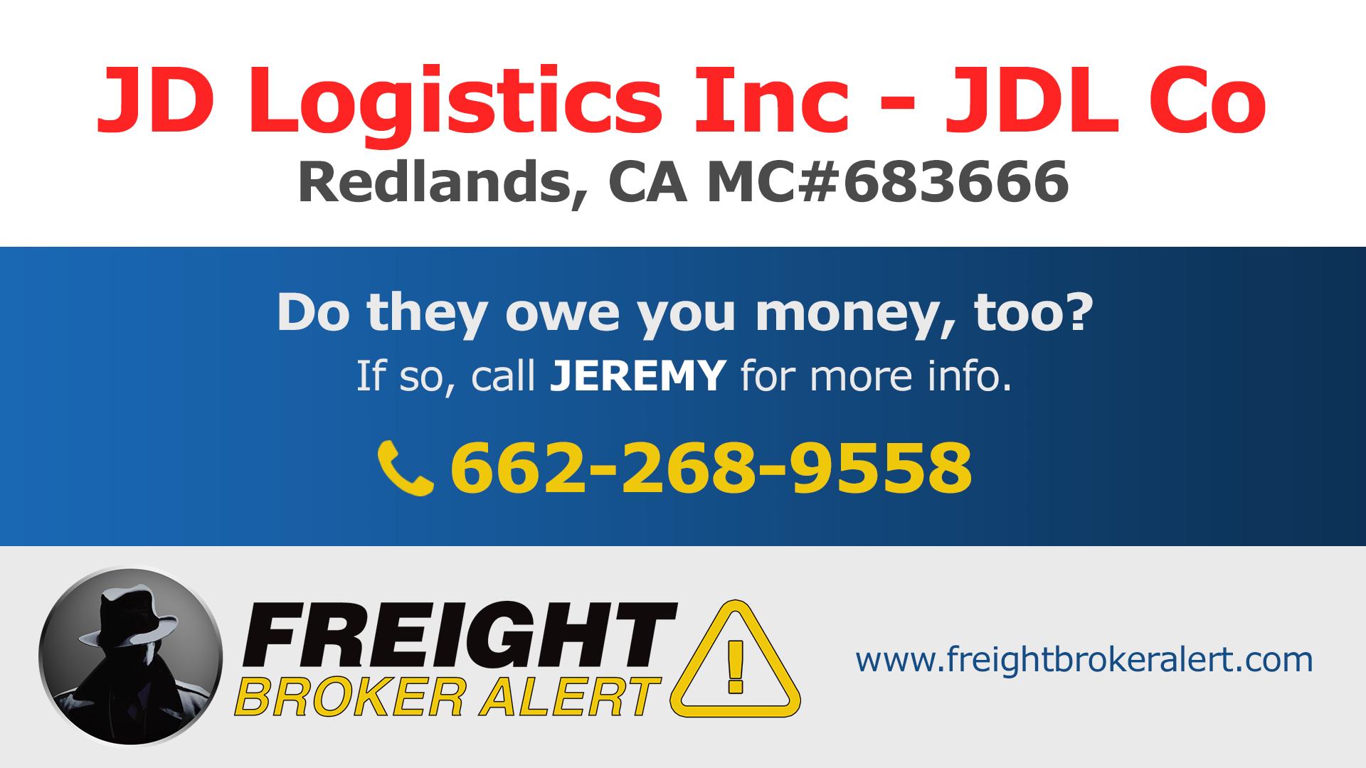 JD Logistics Inc California