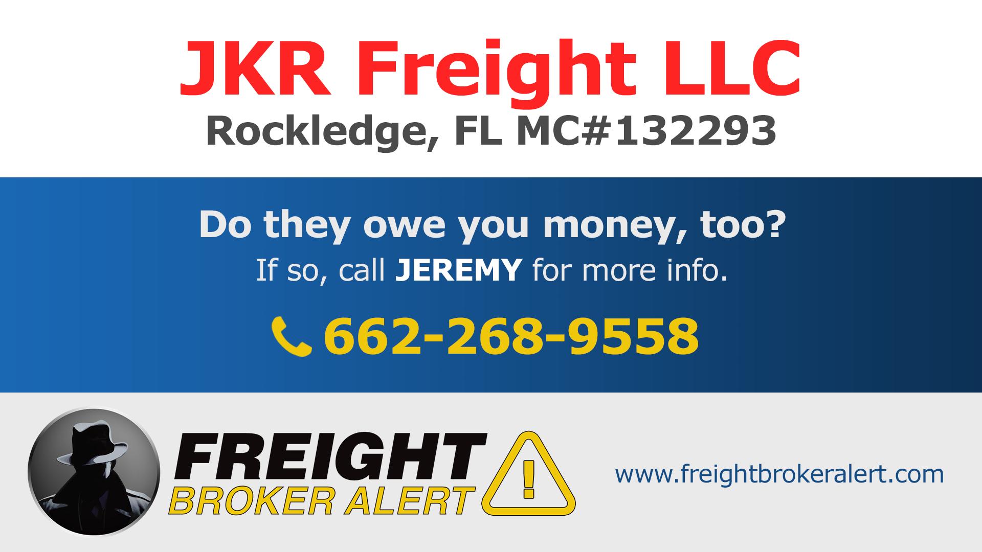 JKR Freight LLC Florida