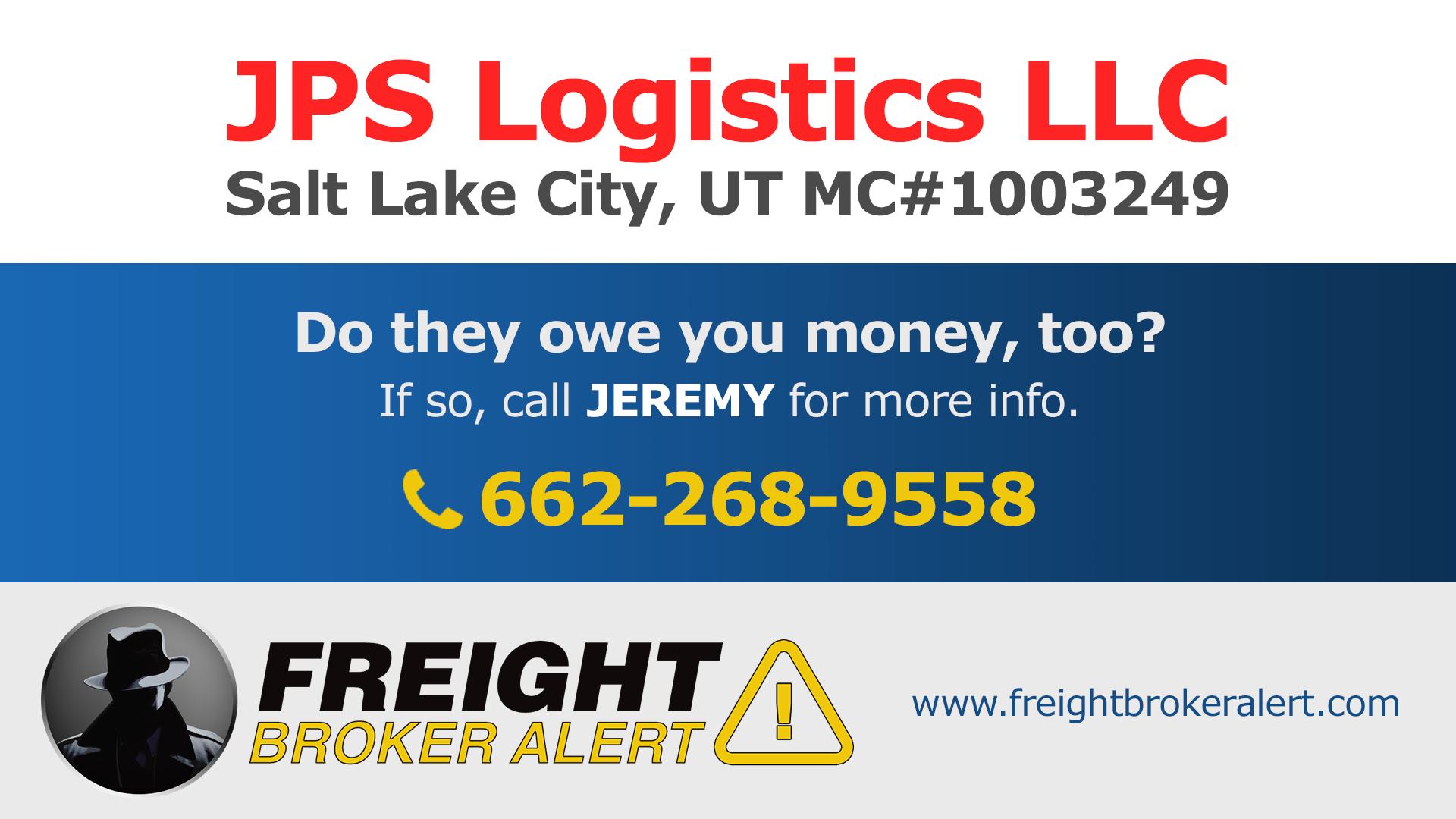 JPS Logistics LLC Utah