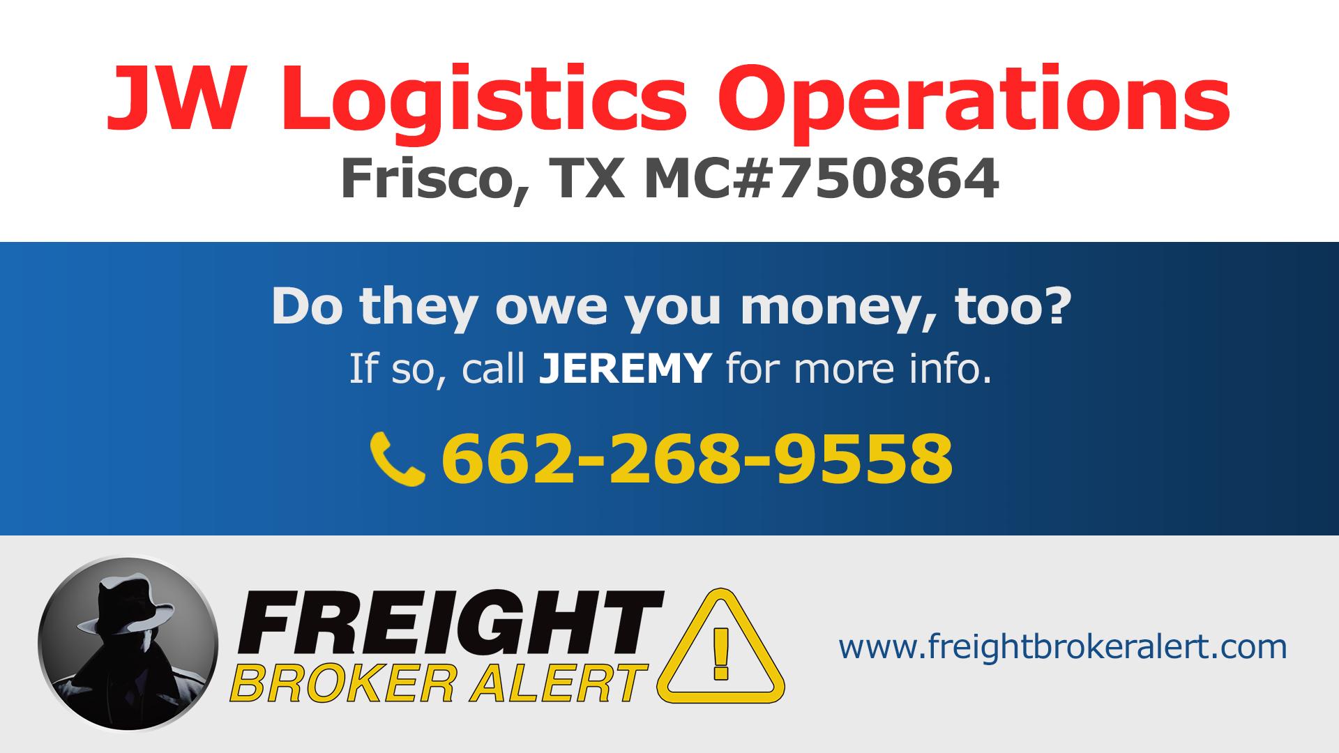 JW Logistics Operations LLC Texas