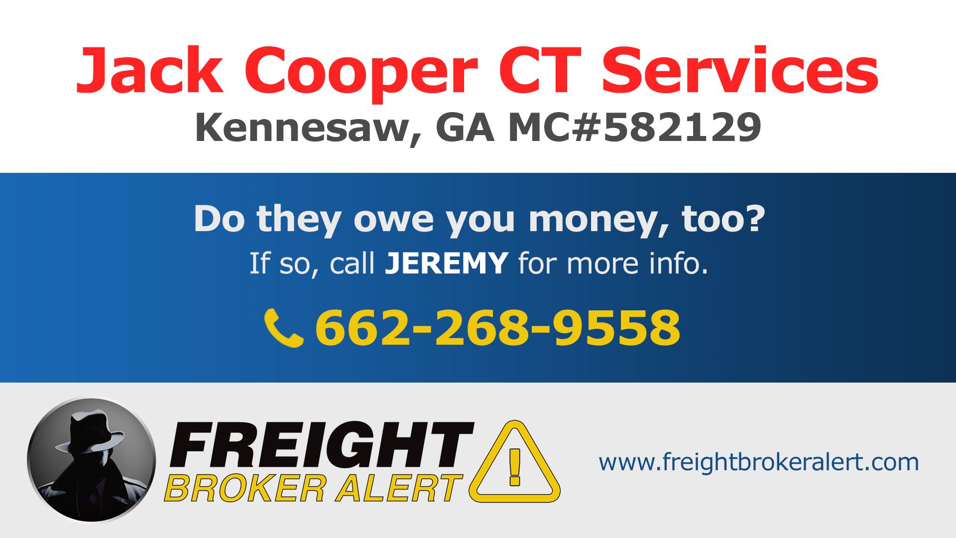 Jack Cooper CT Services Inc Georgia