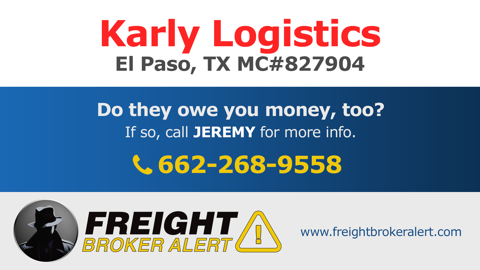 Karly Logistics Texas