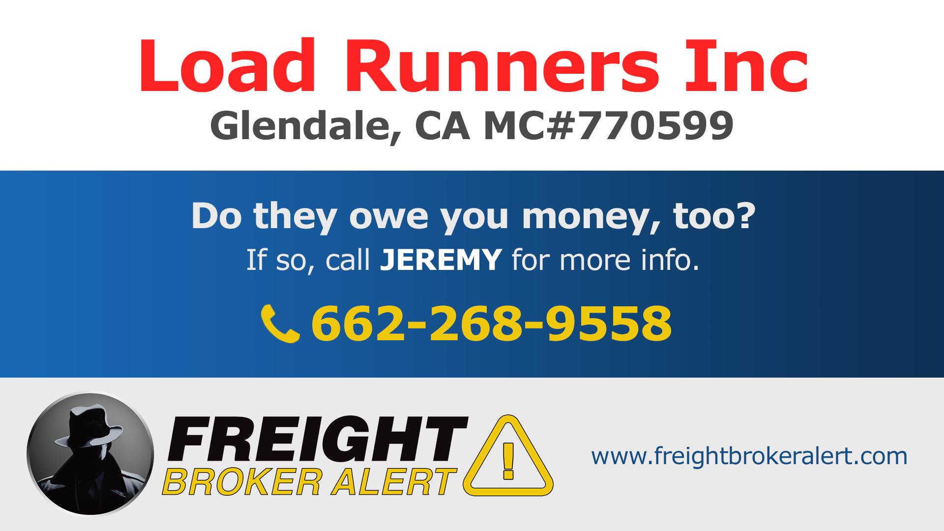 Load Runners Inc California