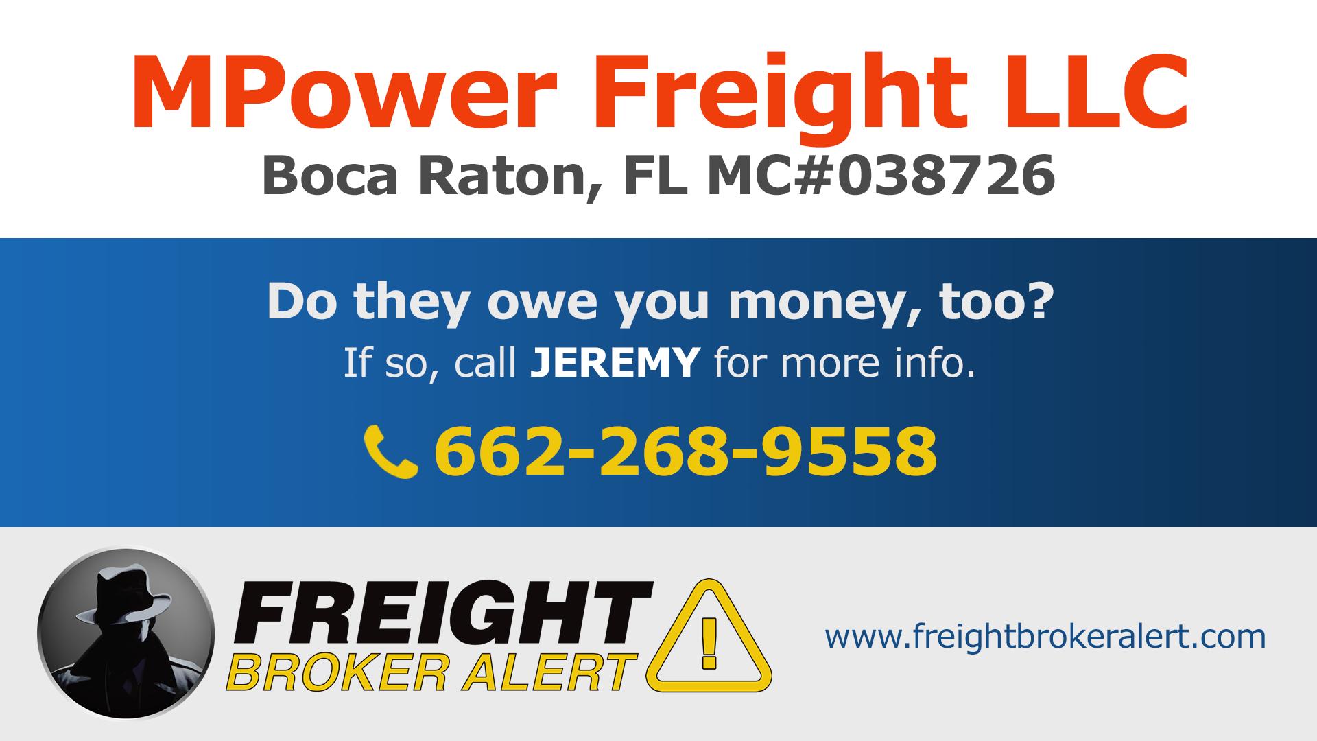 MPower Freight LLC Florida