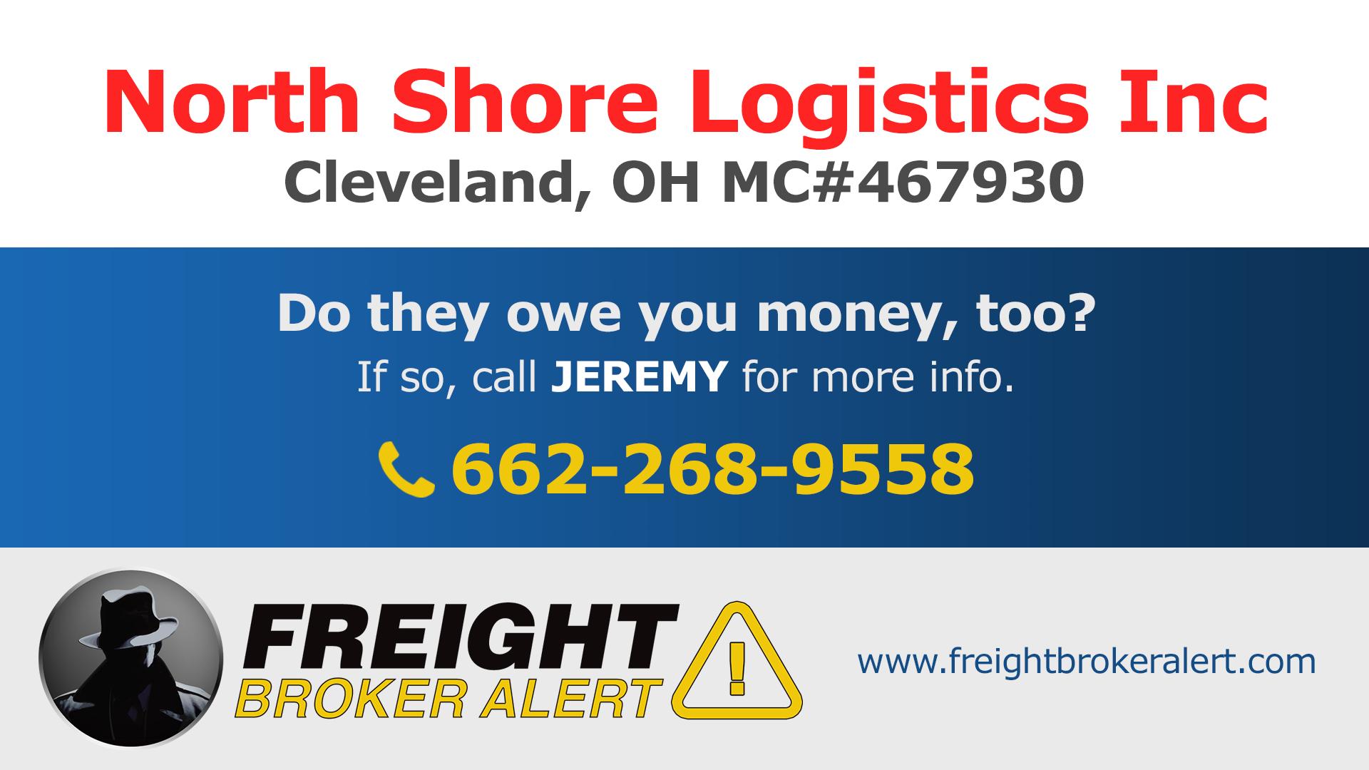 North Shore Logistics Inc Ohio