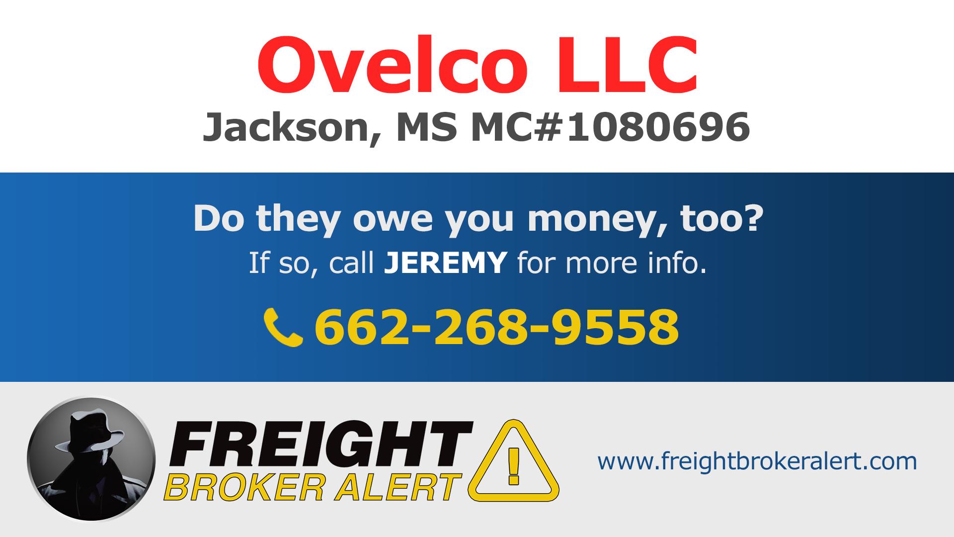 Ovelco LLC Mississippi