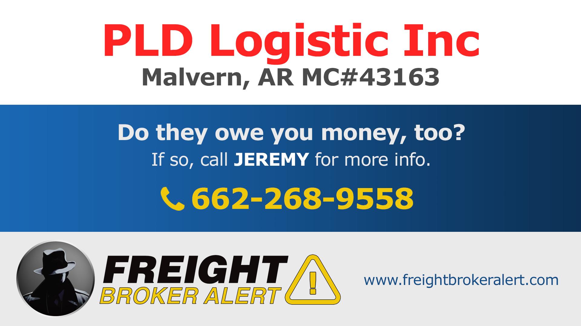 PLD Logistic Inc Arkansas