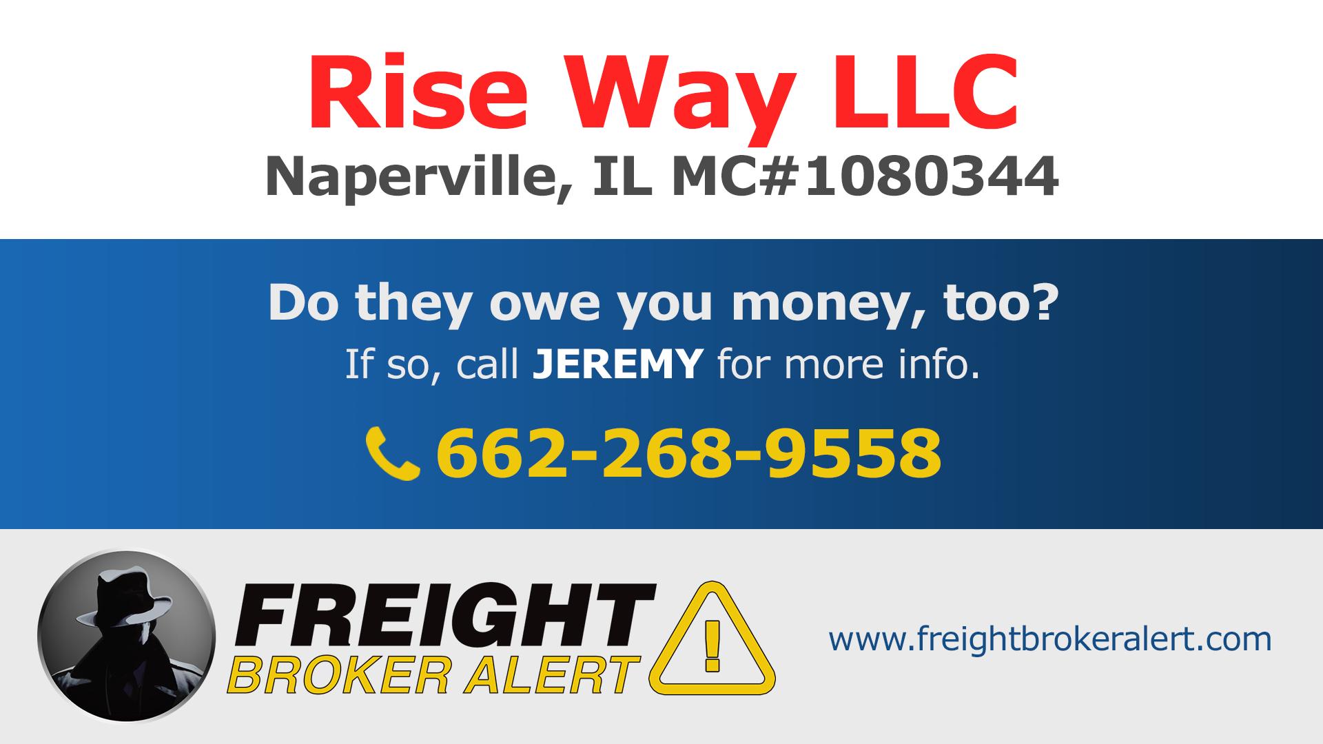 Rise Way LLC Illinois