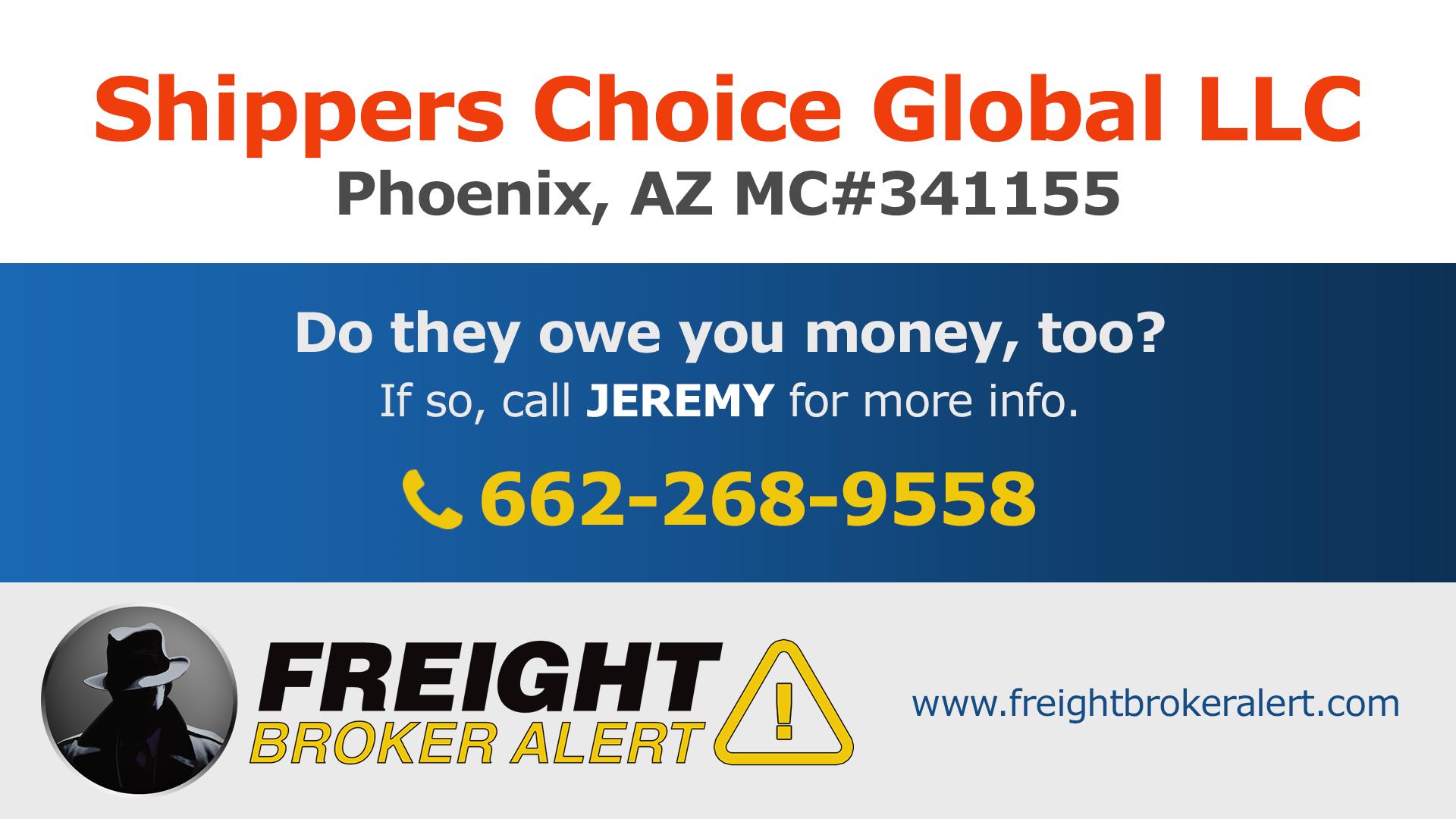 Shippers Choice Global LLC Arizona