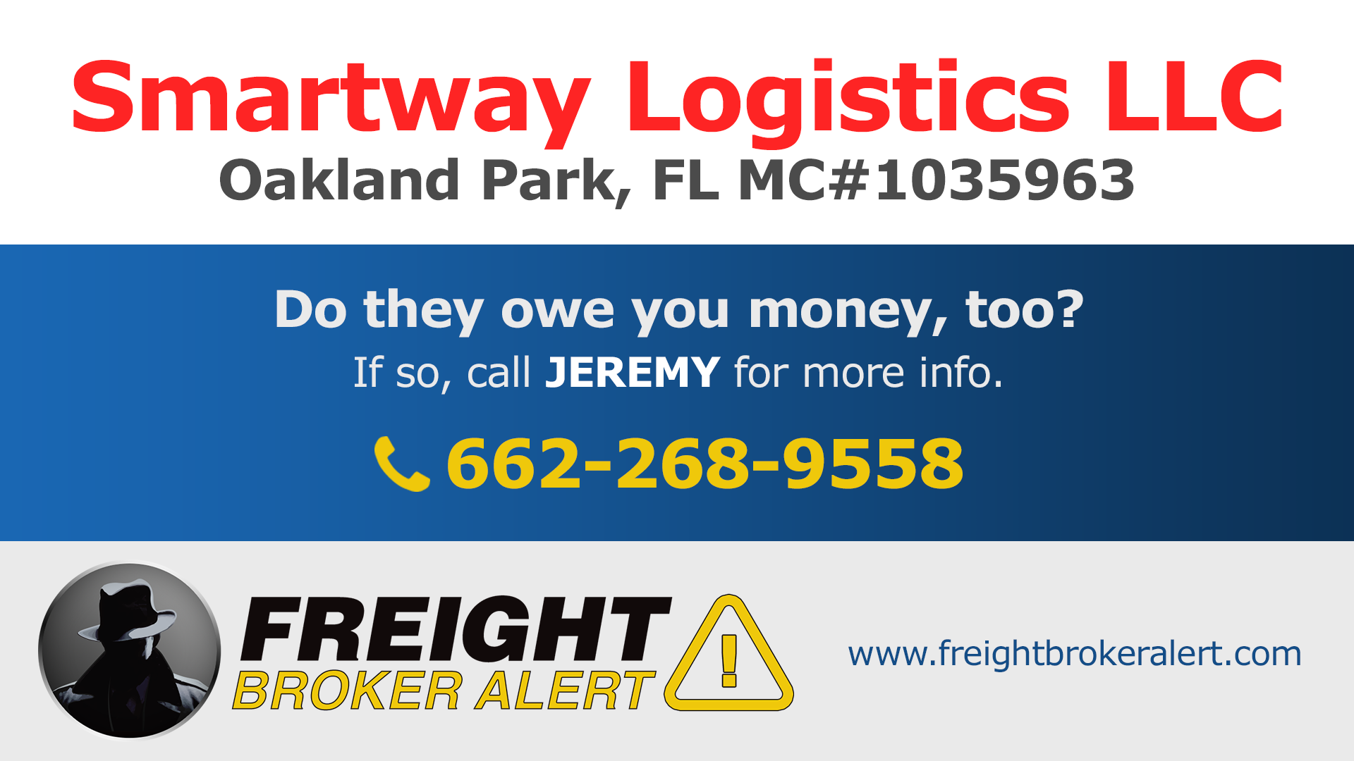 Smartway Logistics LLC Florida