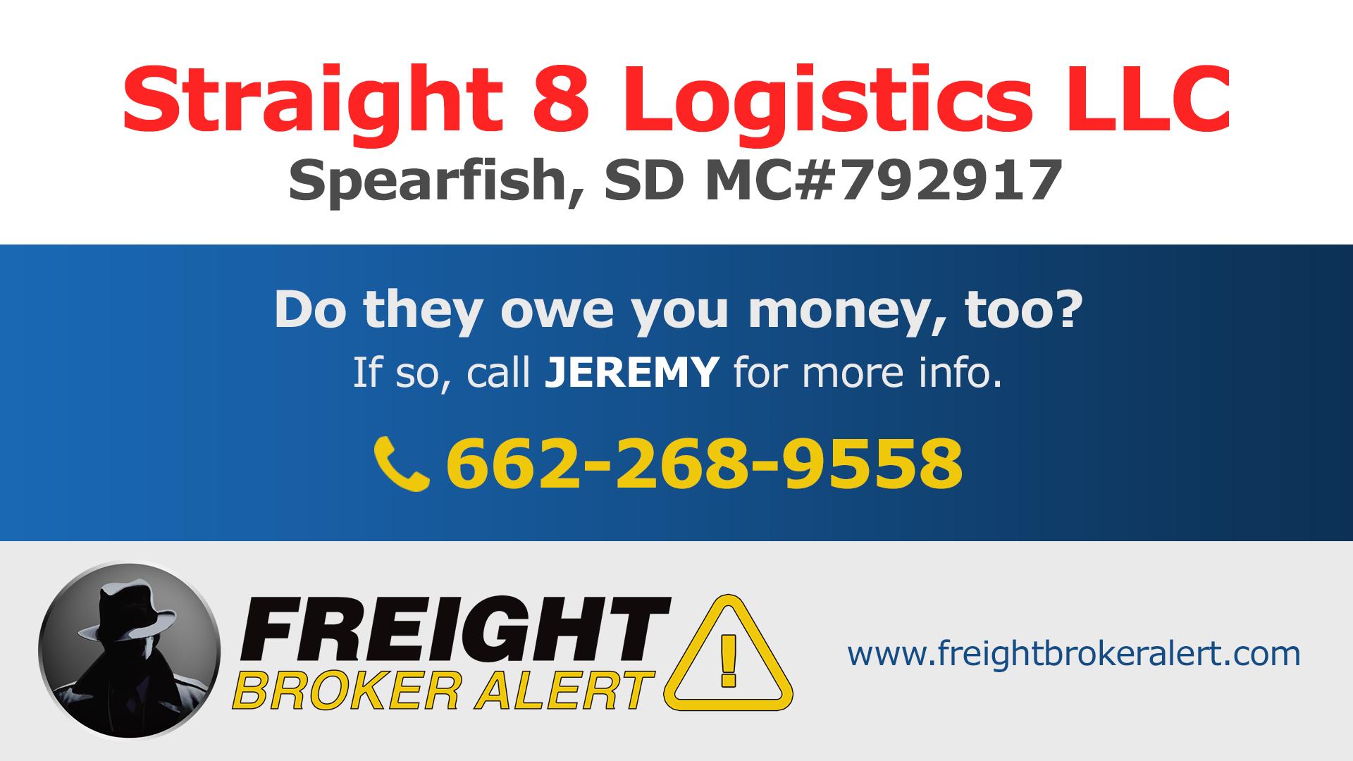 Straight 8 Logistics LLC South Dakota