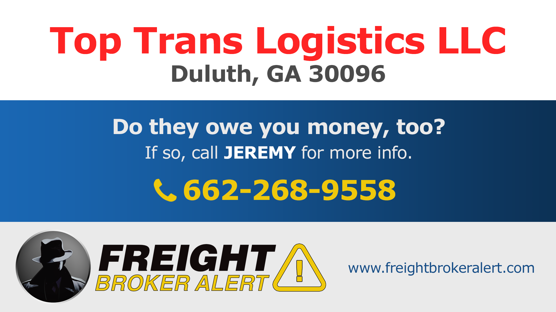 Top Trans Logistics LLC Georgia