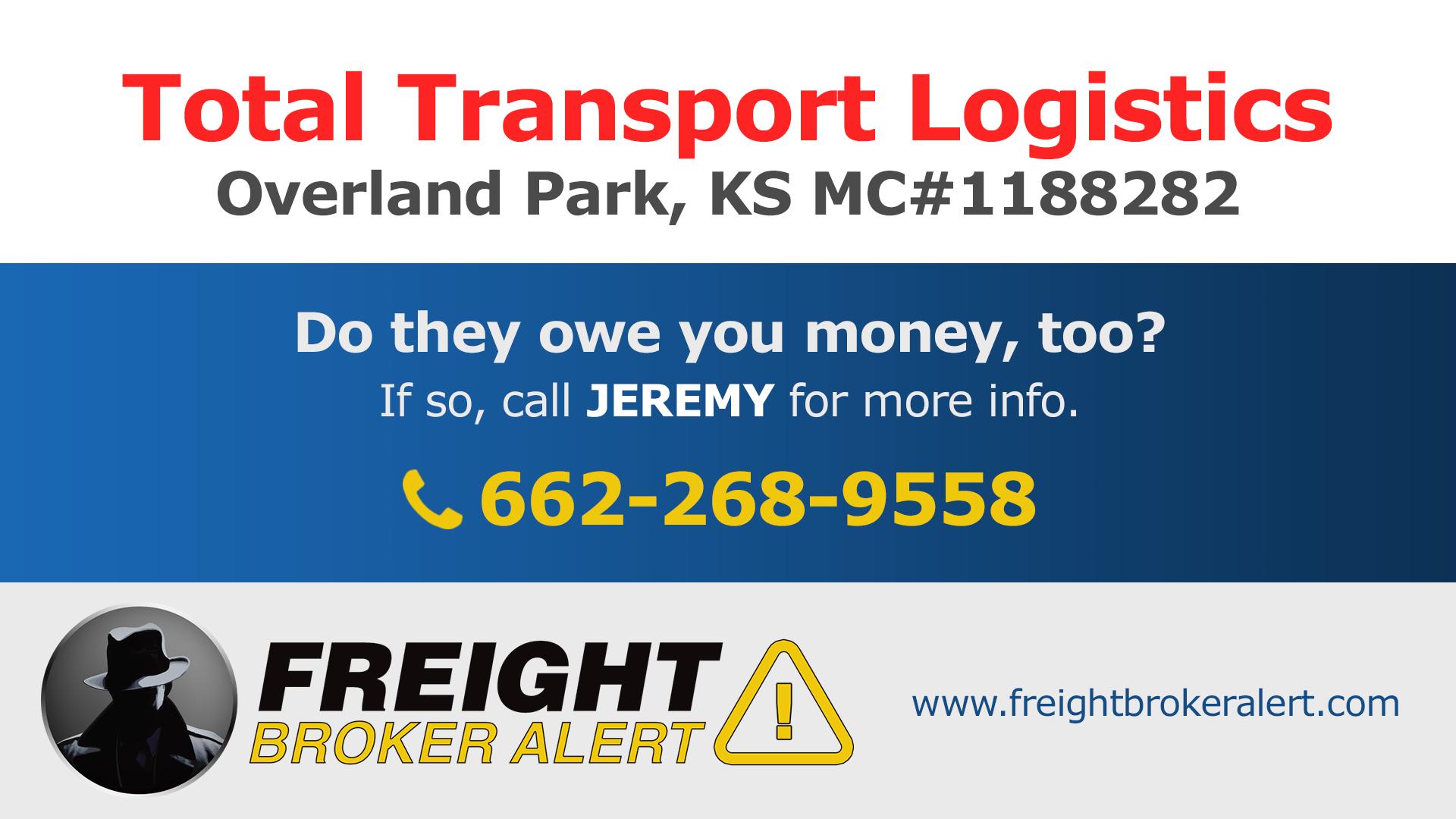 Total Transport Logistics LLC Kansas