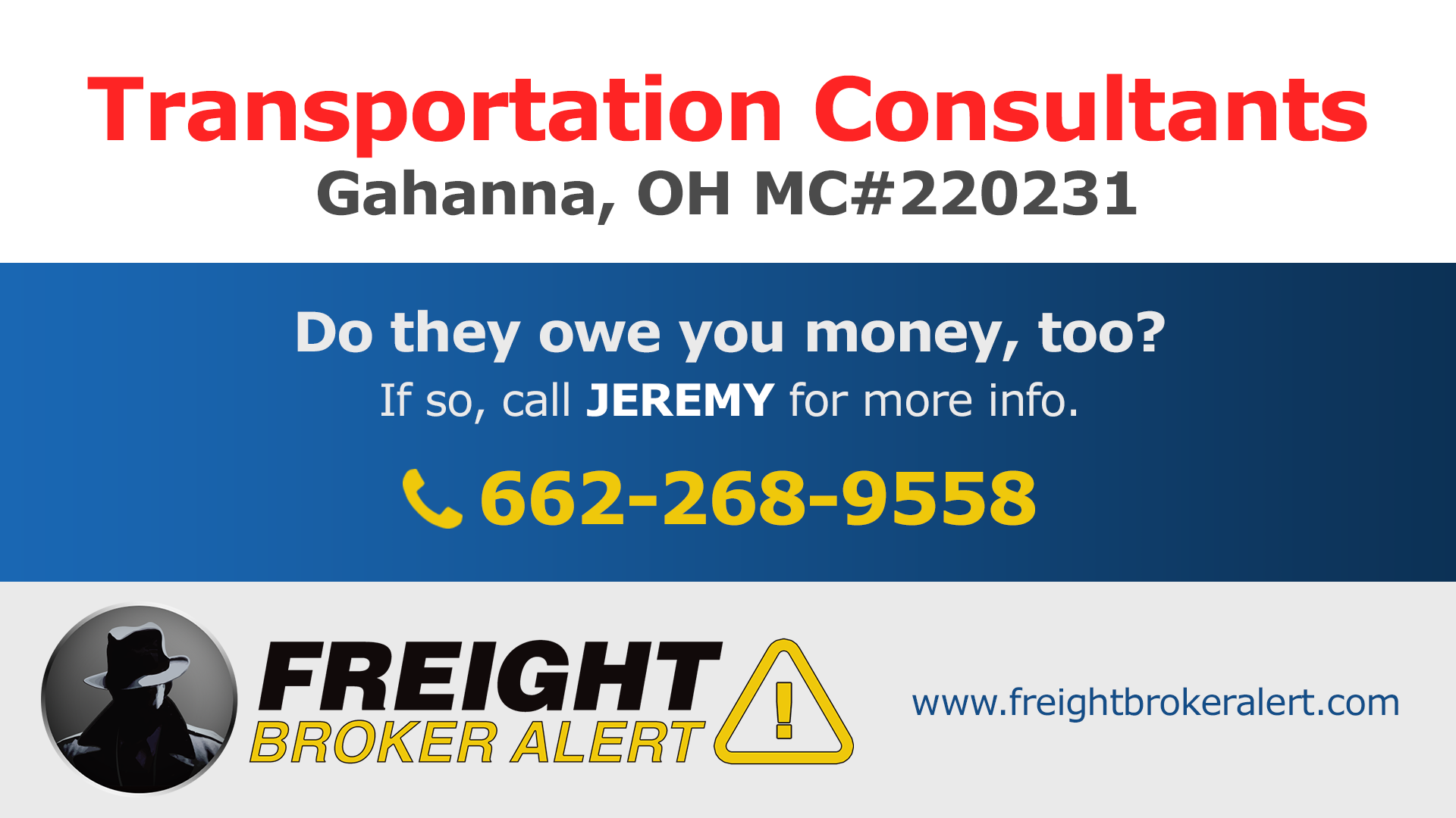 Transportation Consultants Inc Ohio