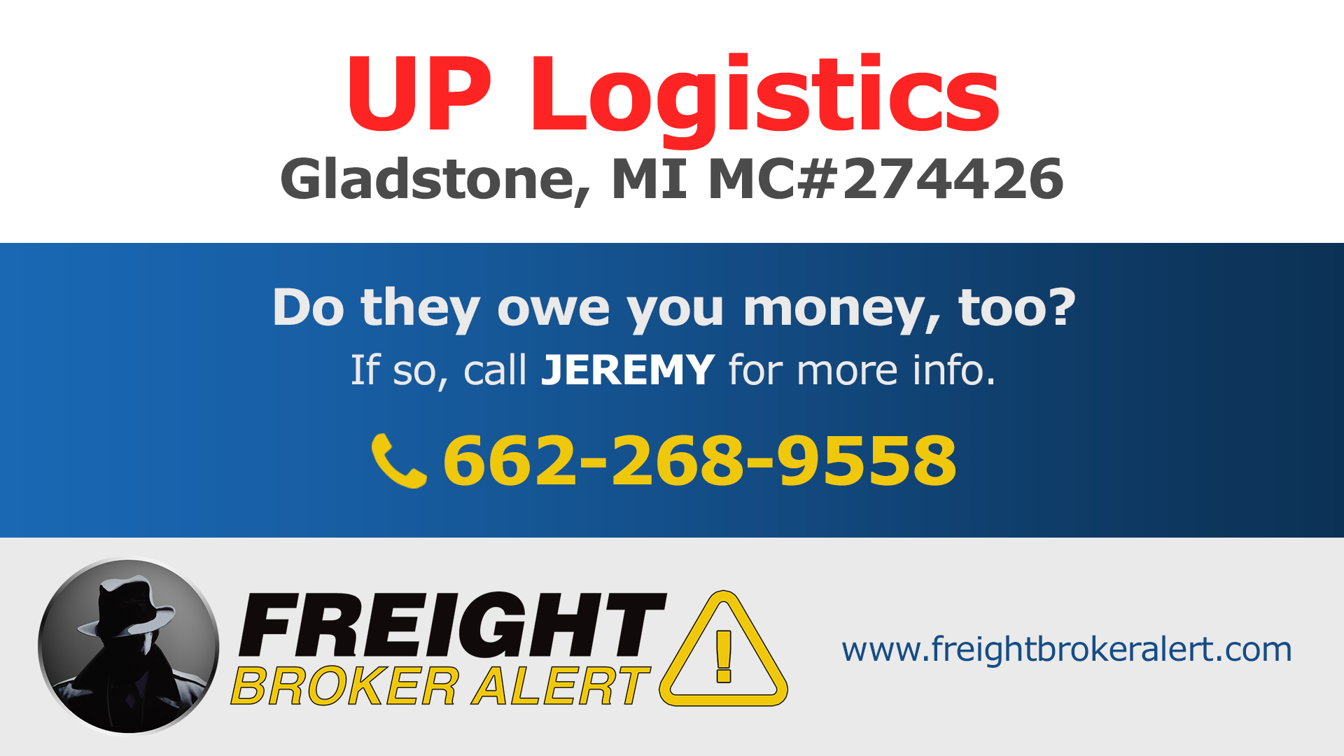 UP Logistics Michigan