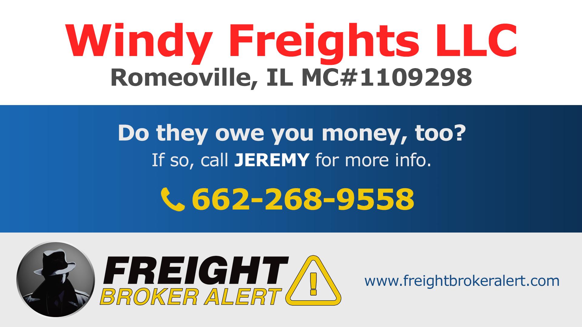 Windy Freights LLC Illinois