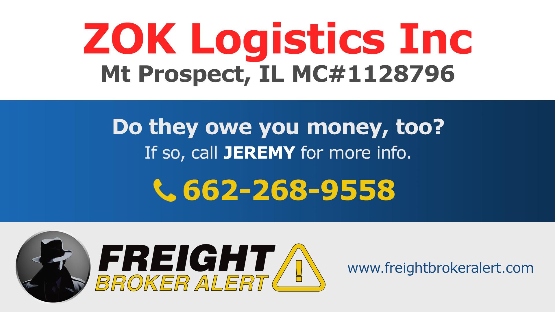 ZOK Logistics Inc Illinois